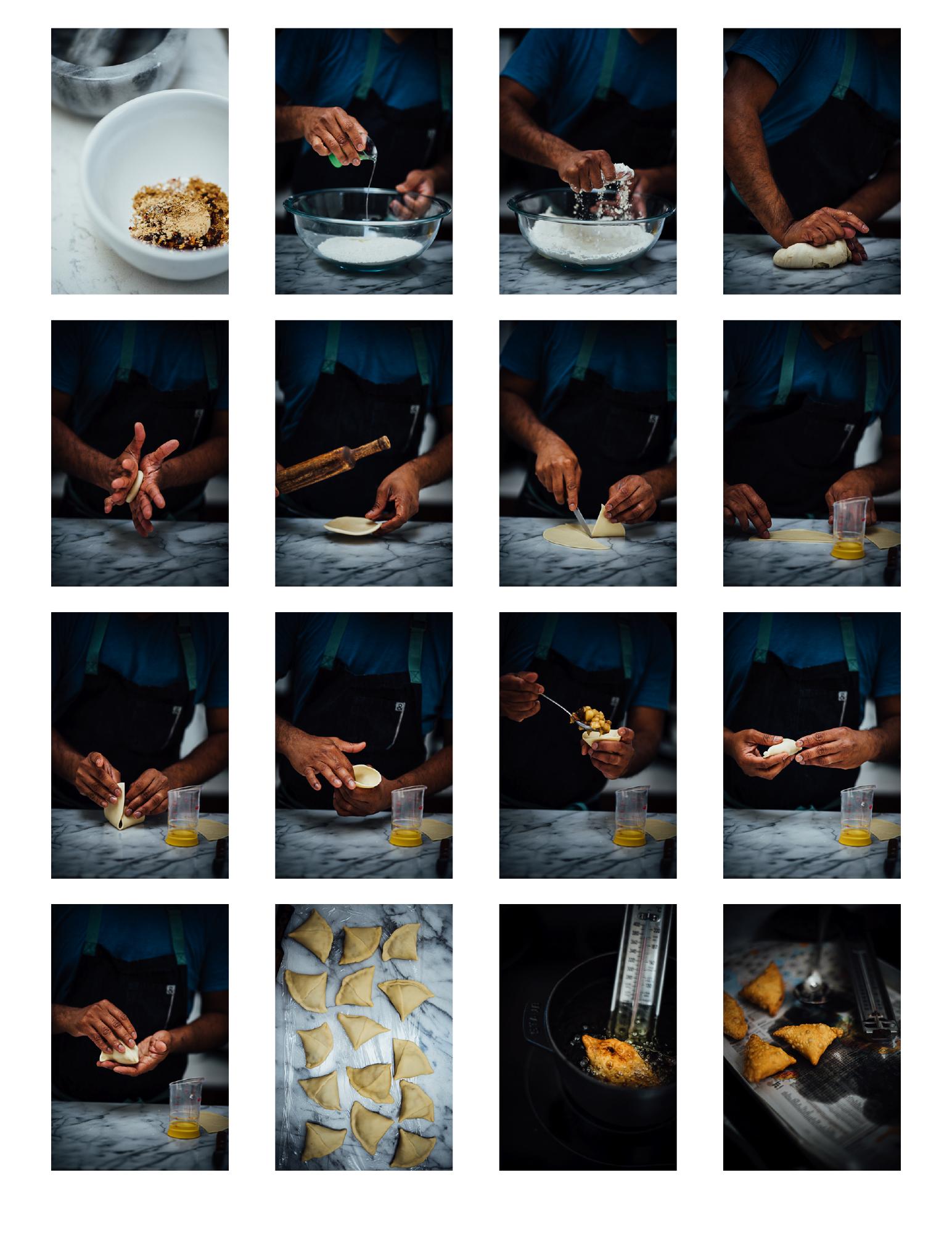 savory apple samosas | Nik Sharma