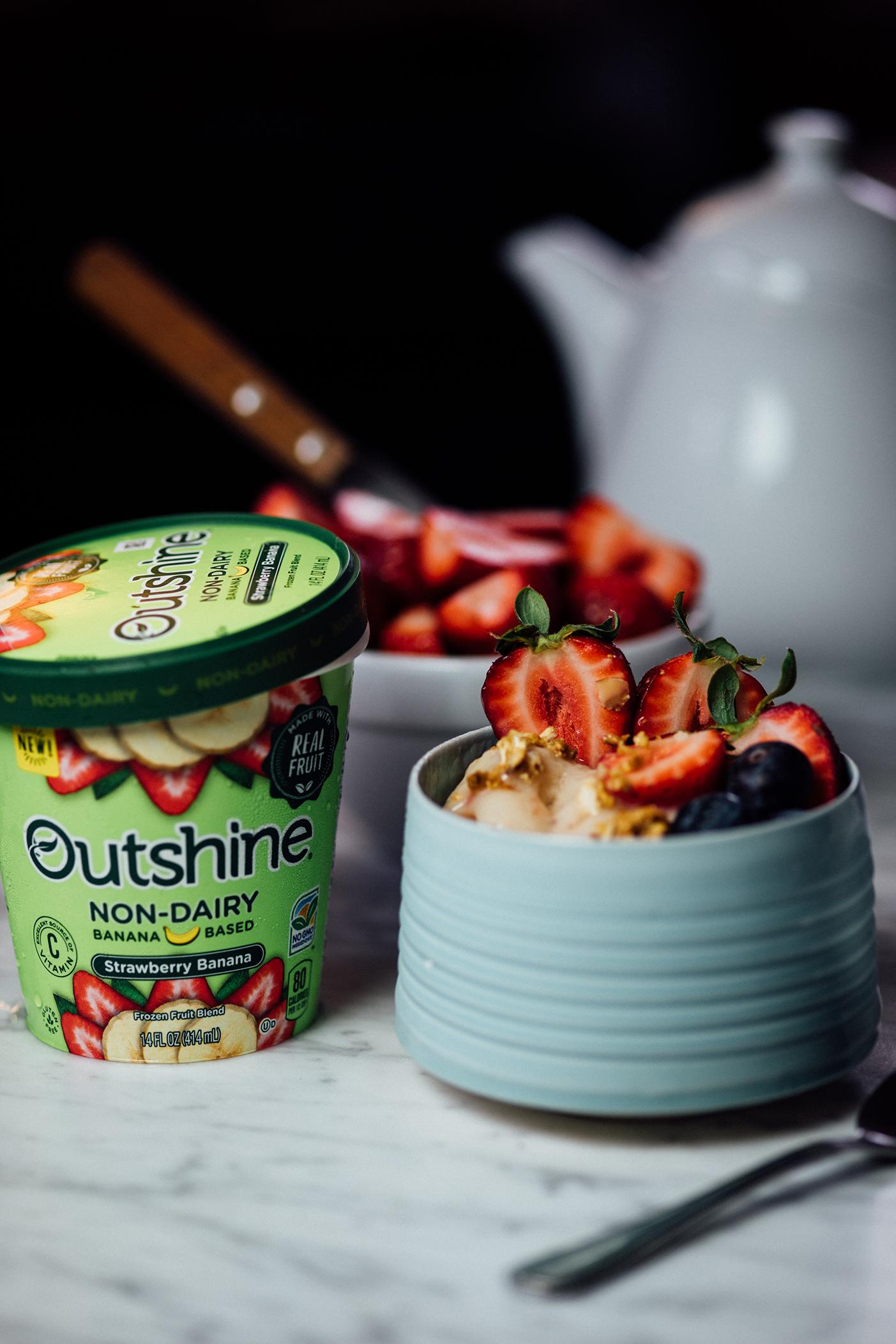 frozen fruit granola bowl | Nik Sharma