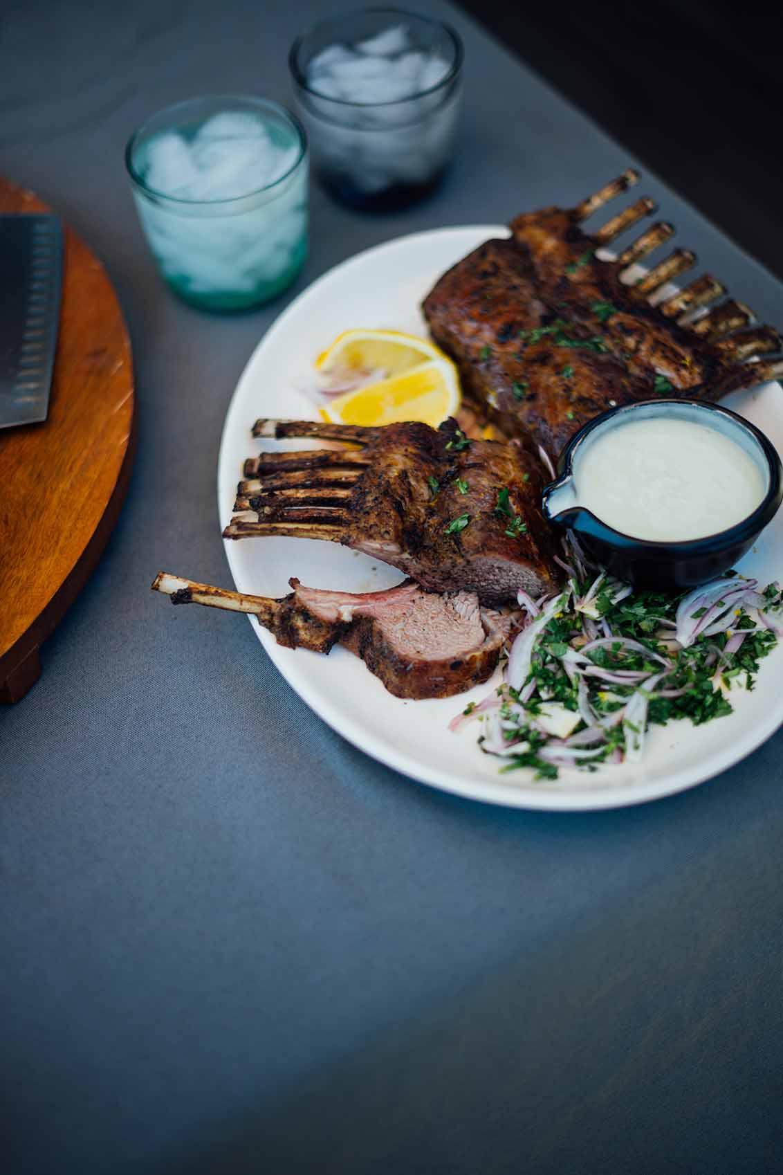 spiced rack of lamb | Nik Sharma