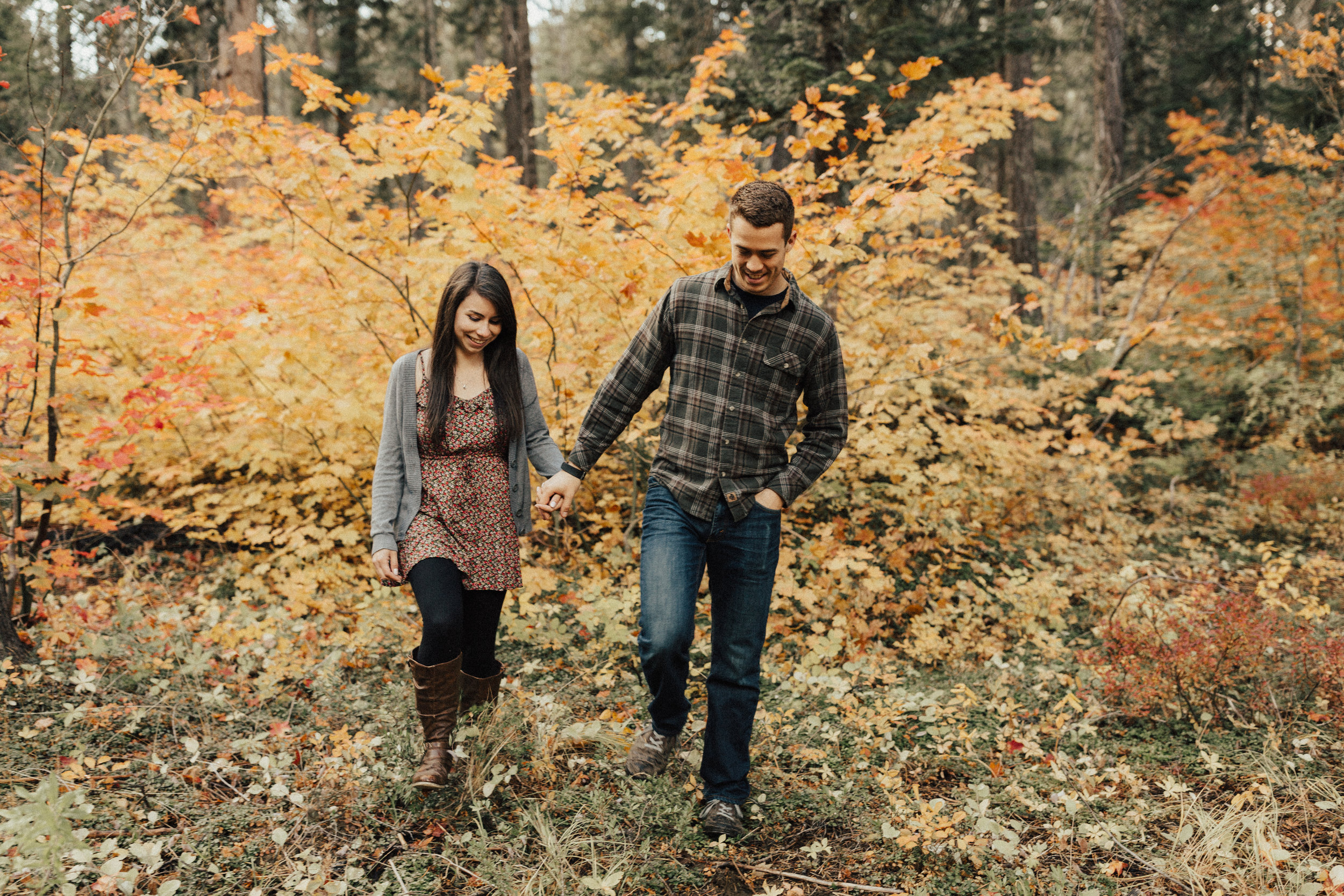 Warren did such an excellent job on our engagement photos! Not only does he have an incredible talent for capturing perfect little moments, but he really goes the extra mile. My fiance and I were prepared to drive 8 hours roundtrip to meet him on the westside, but Warren suggested a place halfway in-between, which was so much easier! He let us bring our dogs and we got to capture a lot of great moments despite the cold wind. Truly grateful that he was not only willing to do all of that for us, but even suggested it himself. We are so excited for him to do our wedding pictures this next year! - Melissa & Zach