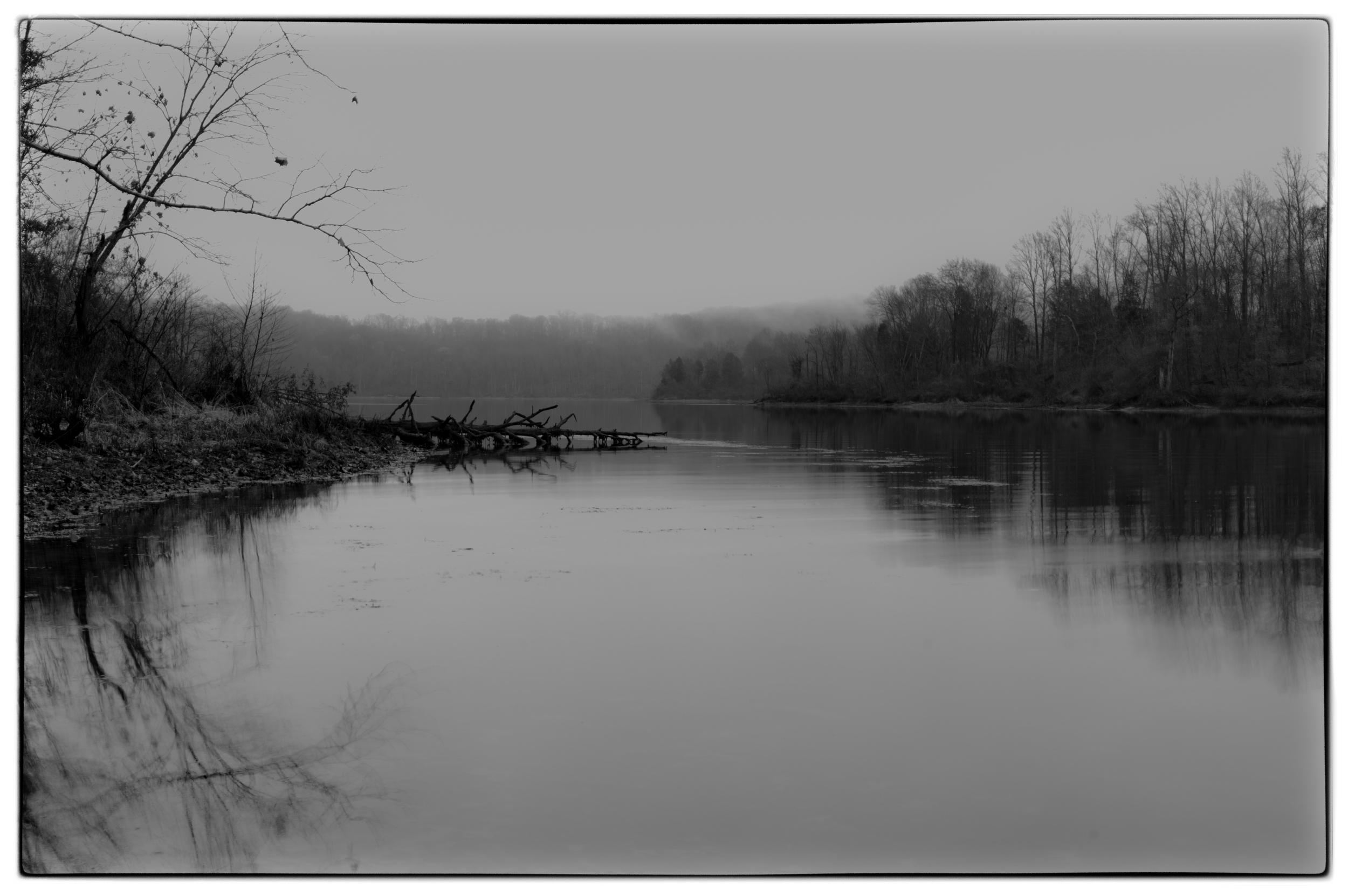 Cedar Lake: Morning Mist