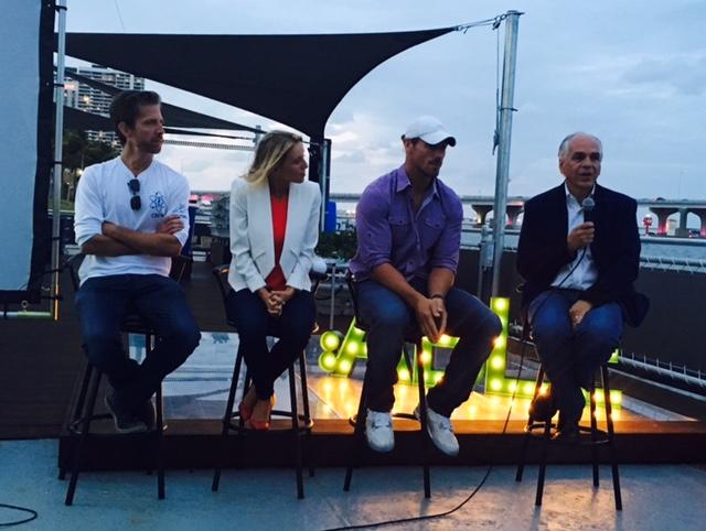 Able Talks, the Athlete Race. April 21, 2016, Miami, FL