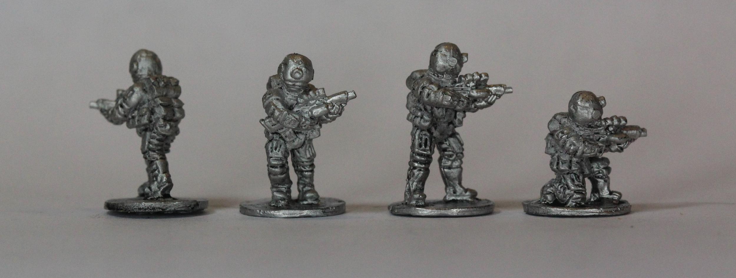 Brazilian Riflemen - Inked