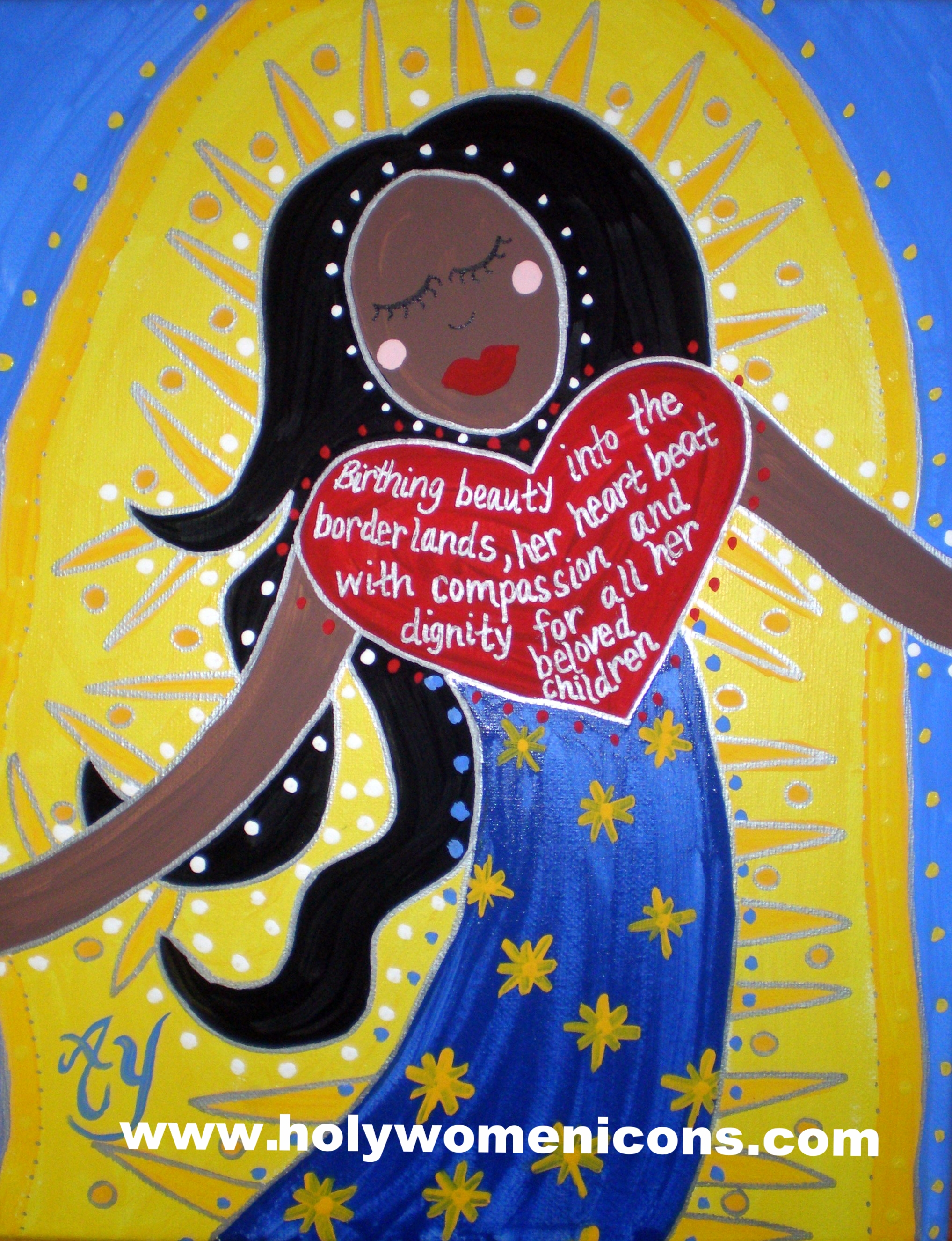 Our Lady of Guadalupe (commission)