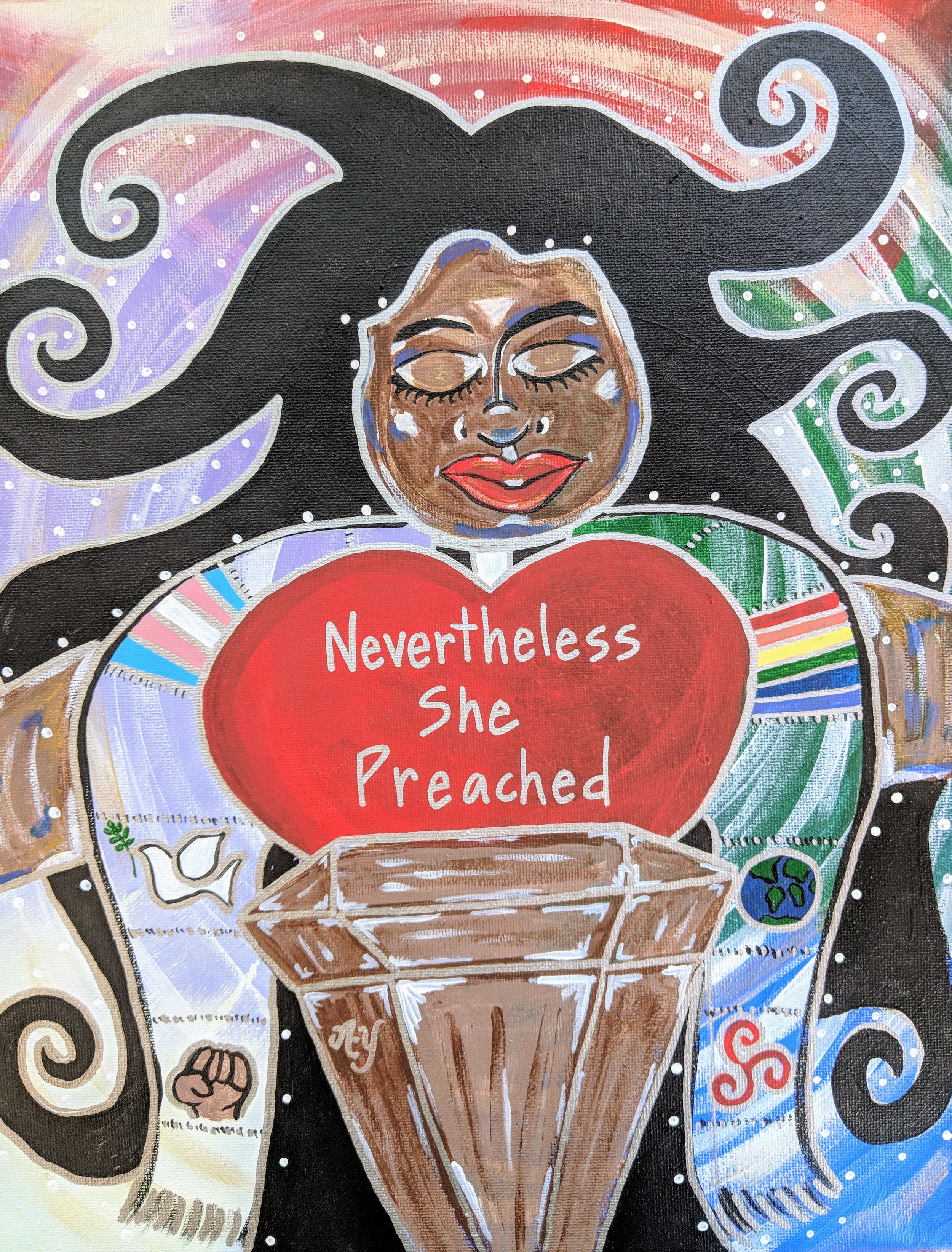 Nevertheless She Preached Goddess