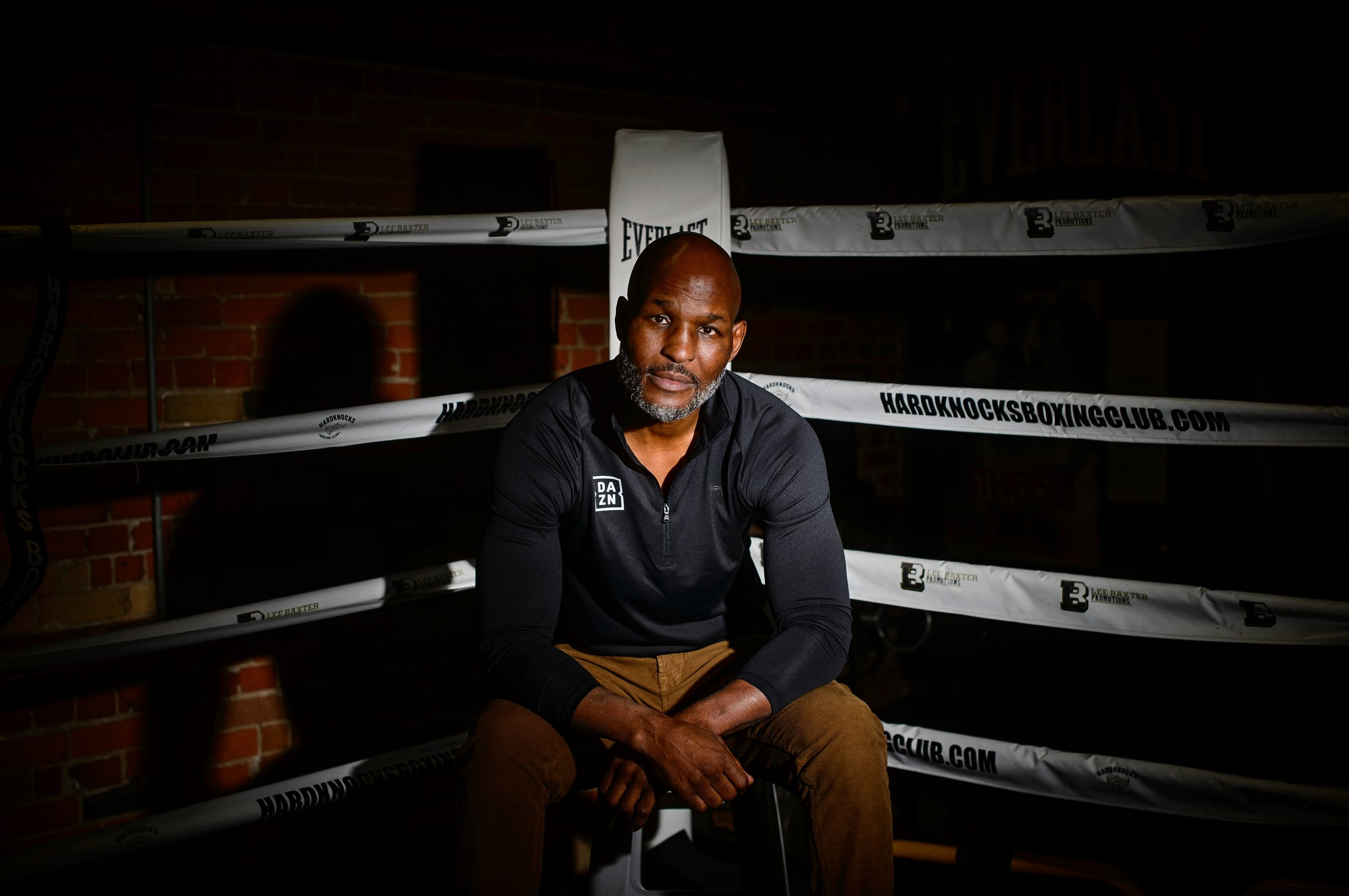 Former boxing World Champion Bernard Hopkins poses for a portrait at Hardknocks Boxing Gym in Toronto, Ont. on December 5, 2018.