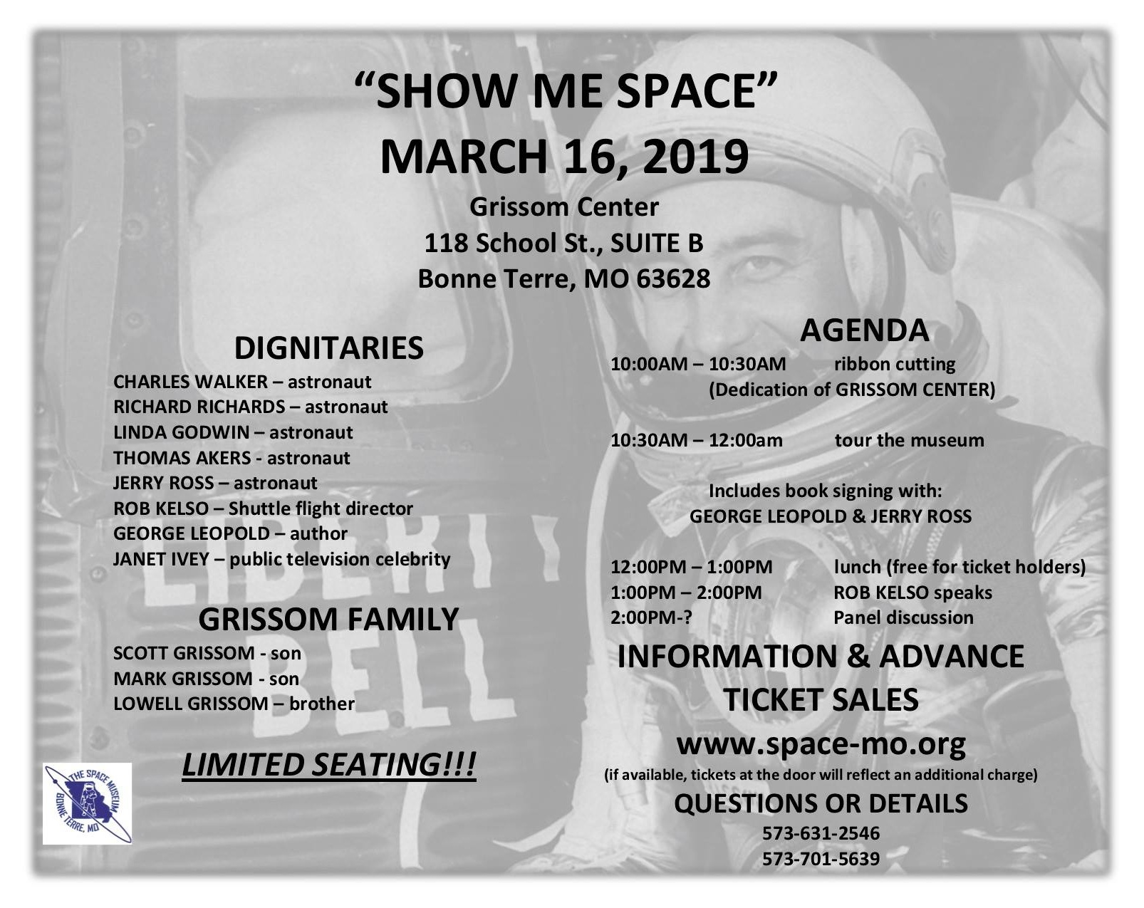 Events — The Space Museum