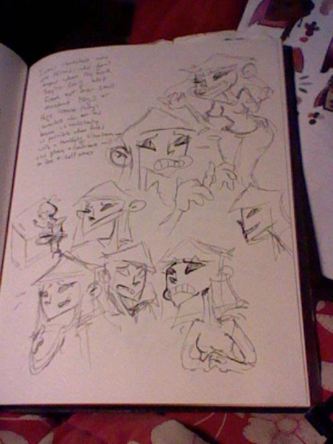 Tati character sketches