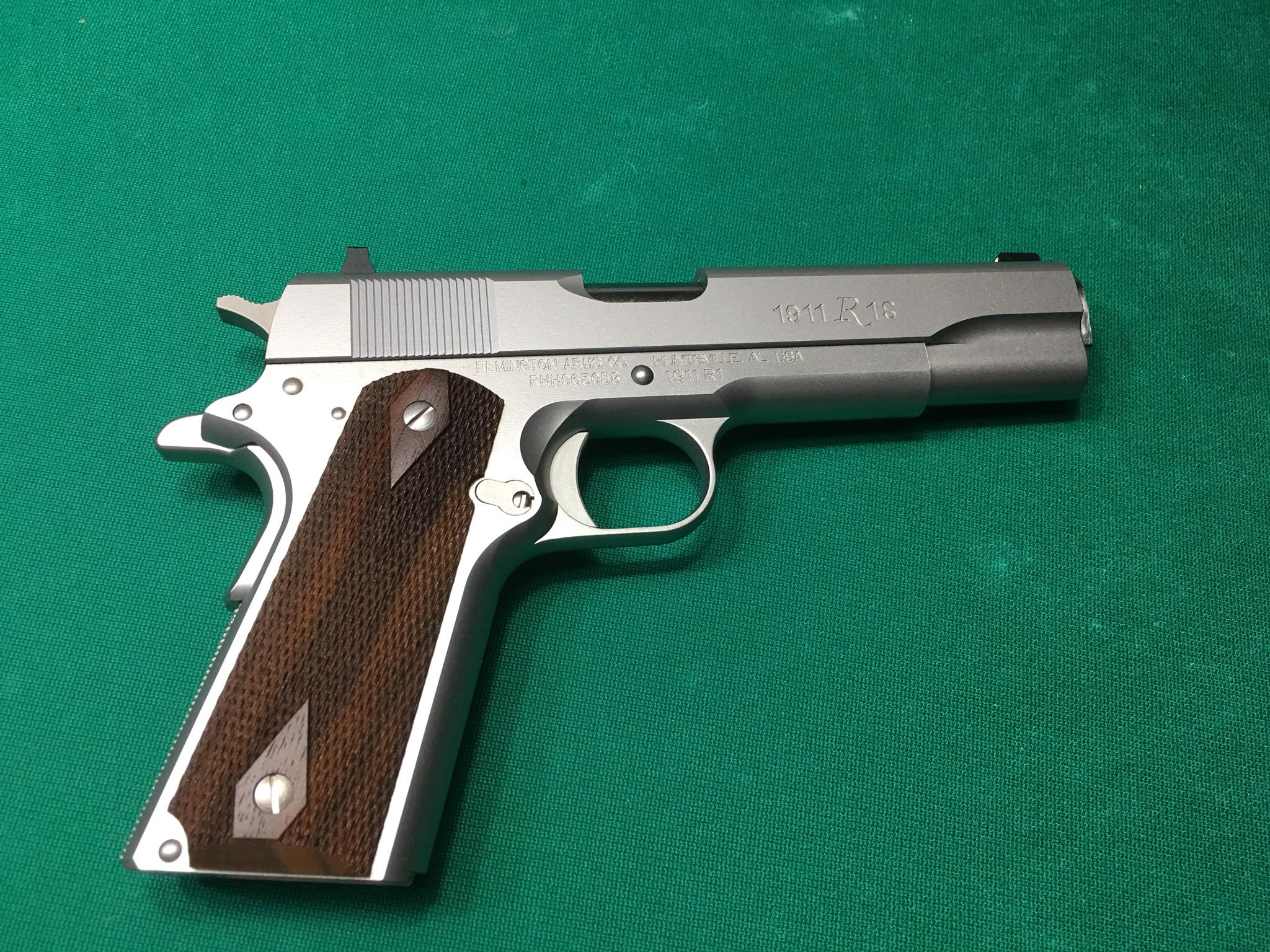 Remington 1911 Frame 45 Caliber Stainless