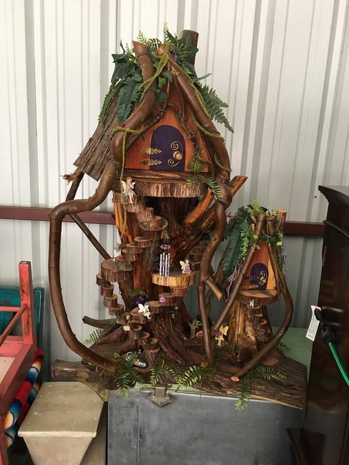 Whimsical & Fun Fairy House
