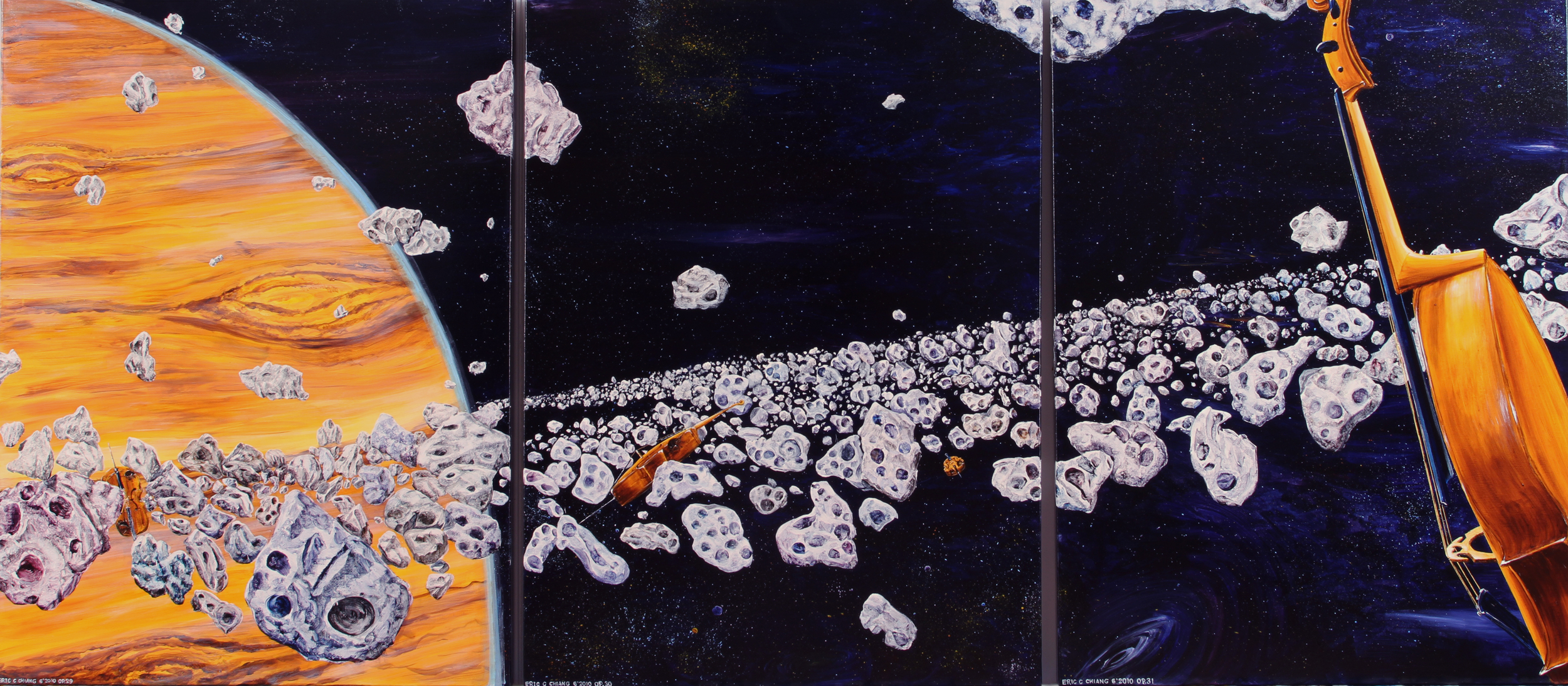 the transcending asteroids