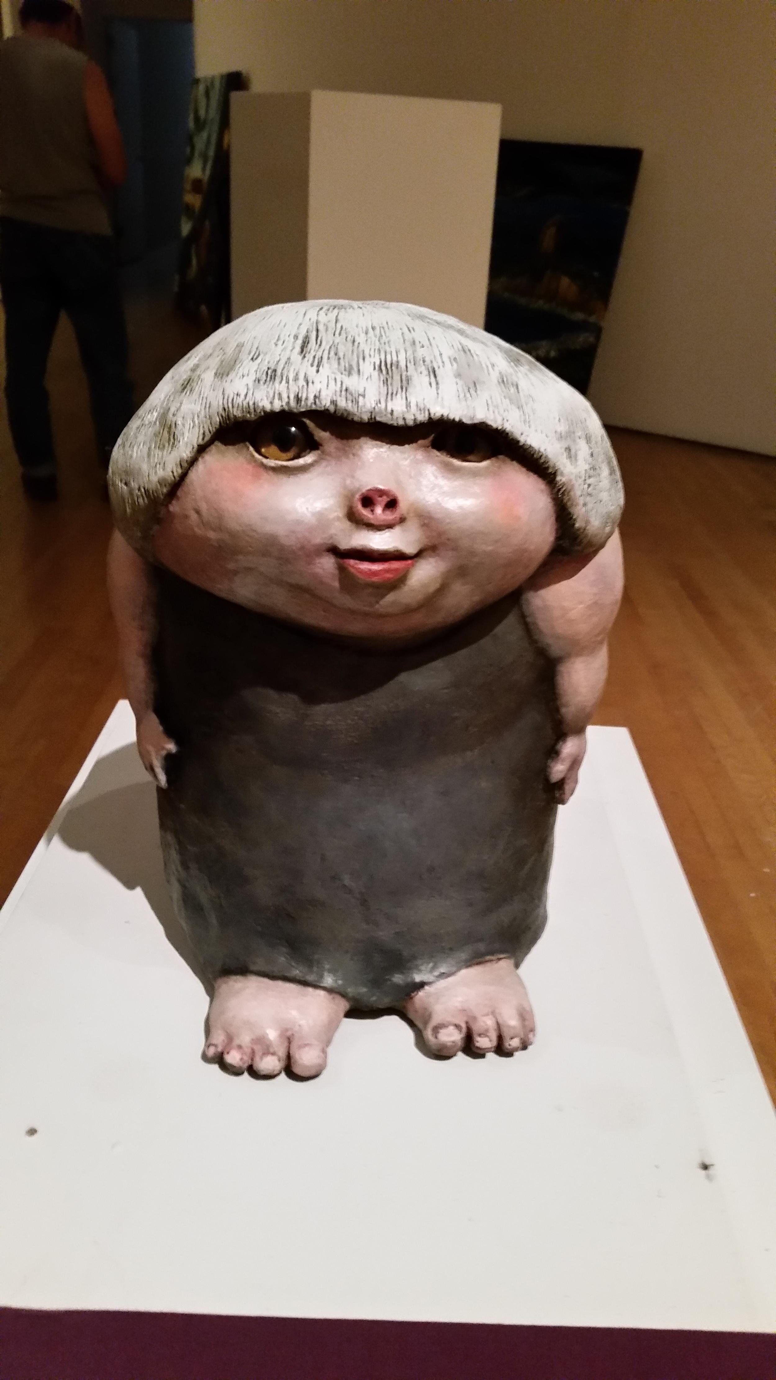 Pig With Mushroom Head