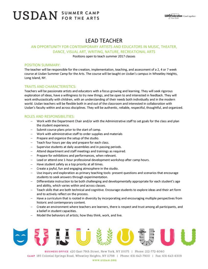 Usdan Lead Teacher Description 2-p1.jpg