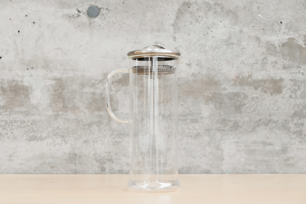 Use our  Tall Brew Pot  for the easiest, fail-proof cold brew vessel.