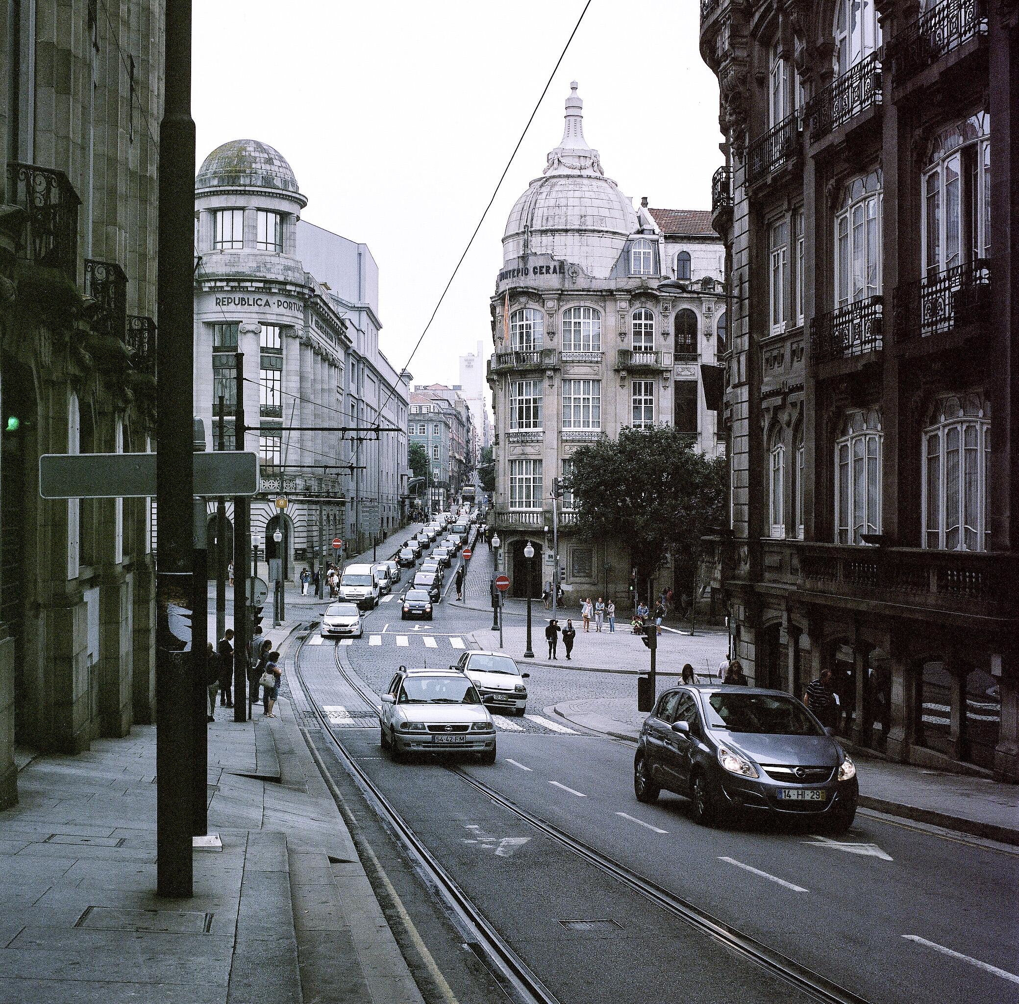 Porto, Portugal. Shot with a Hasselblad 500CM on Kodak Portra 400