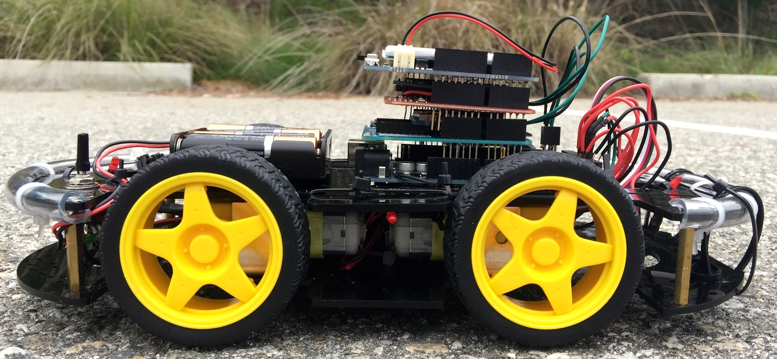 Completed Vehicle Prototype