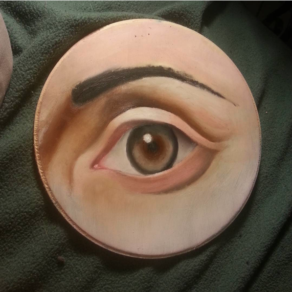 Instagram   Artist: Emilio  Titile : Eye Study  Size: -   Mediums: Oil  W.I.P or Done: Done