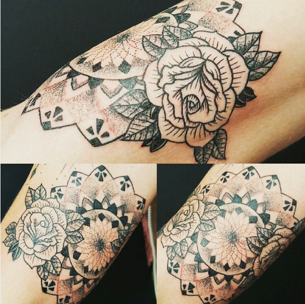 Instagram  Artist: David Mondul Title: - Size:- Mediums: Tattoo W.I.P or Done: Done