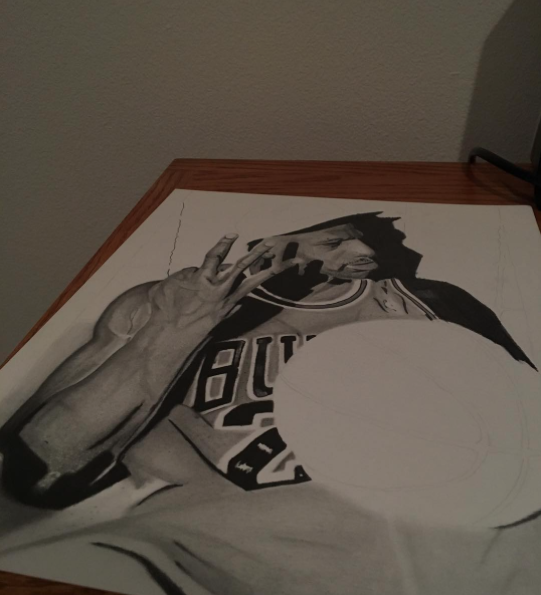 Instagram  Artist: OG Chuy Titile : - Size: - Mediums: Pencil W.I.P or Done: W.I.P