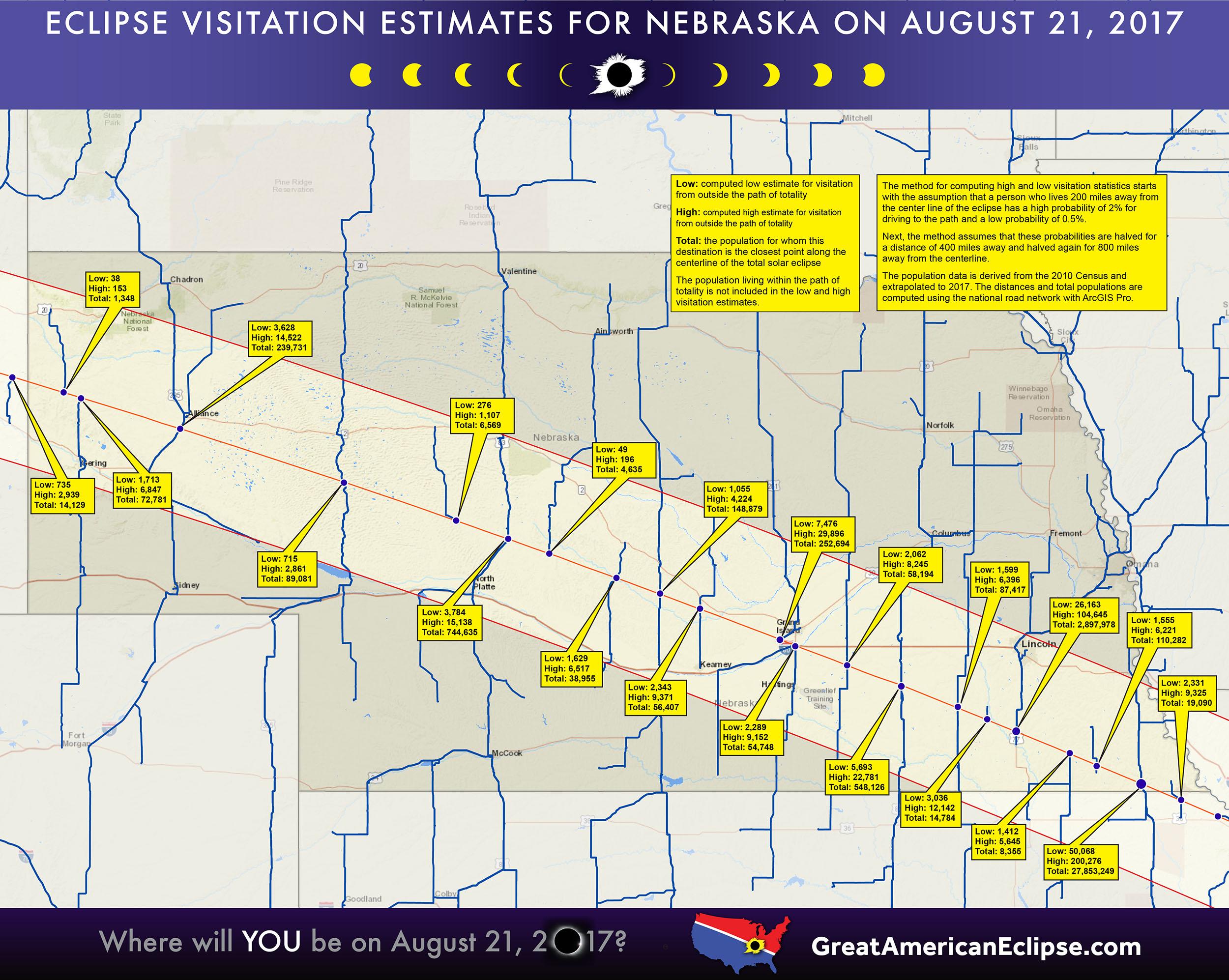Nebraska Eclipse Total Solar Eclipse Of April 8 2024