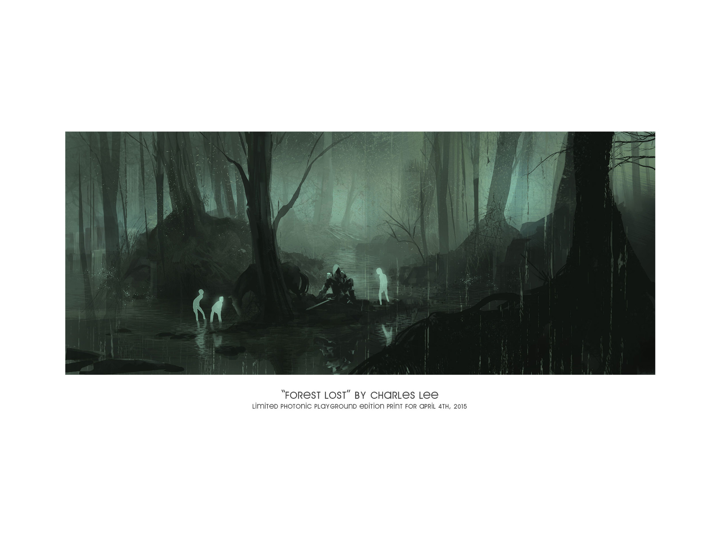 """""""Forest Lost"""" (print)"""