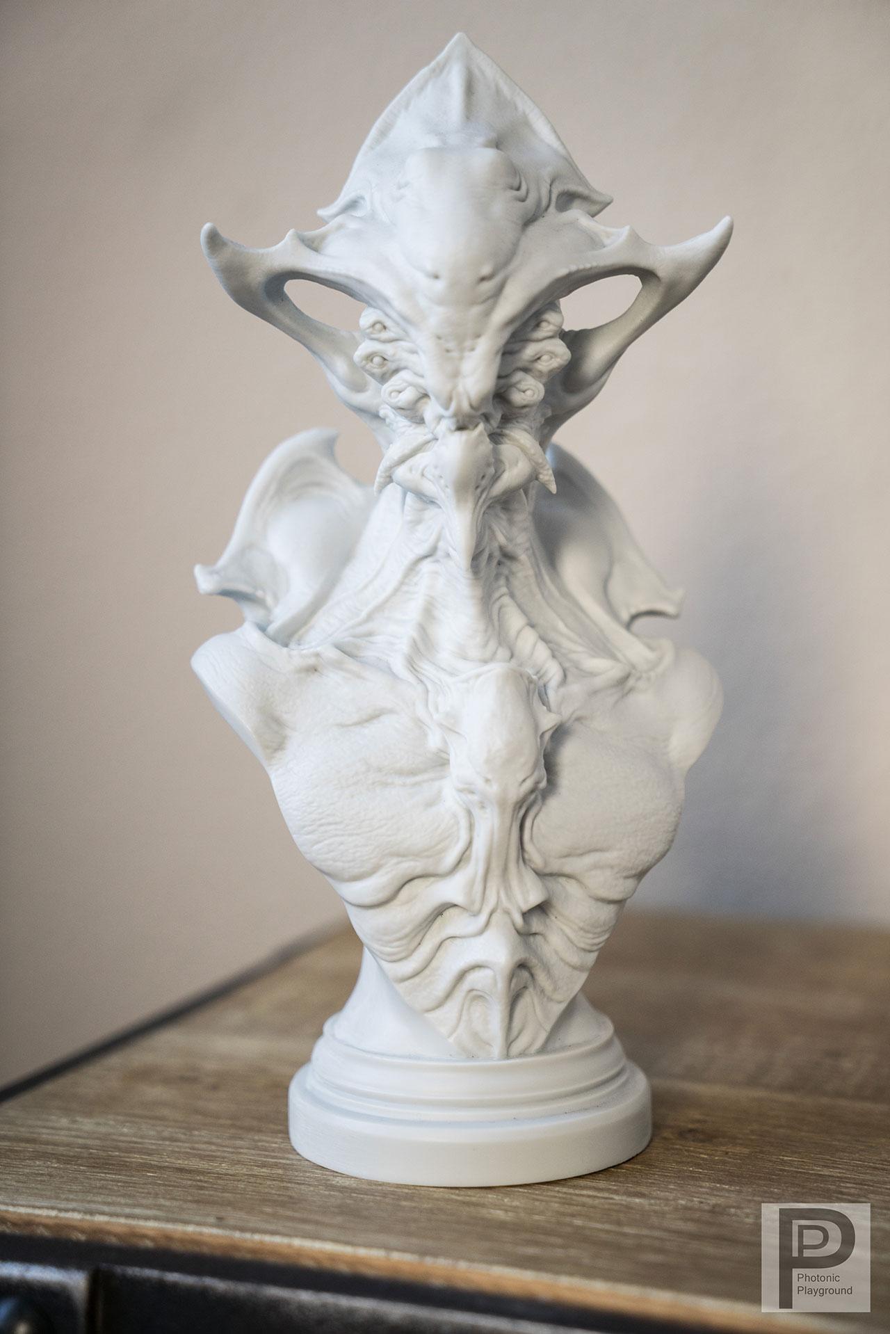 """Zotun"" resin sculpt"