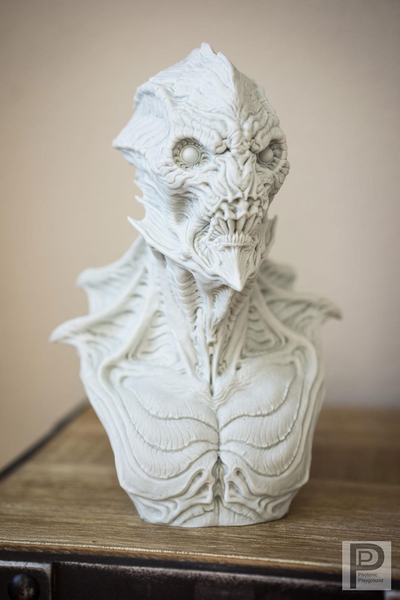 """""""Gillman"""" resin sculpt"""