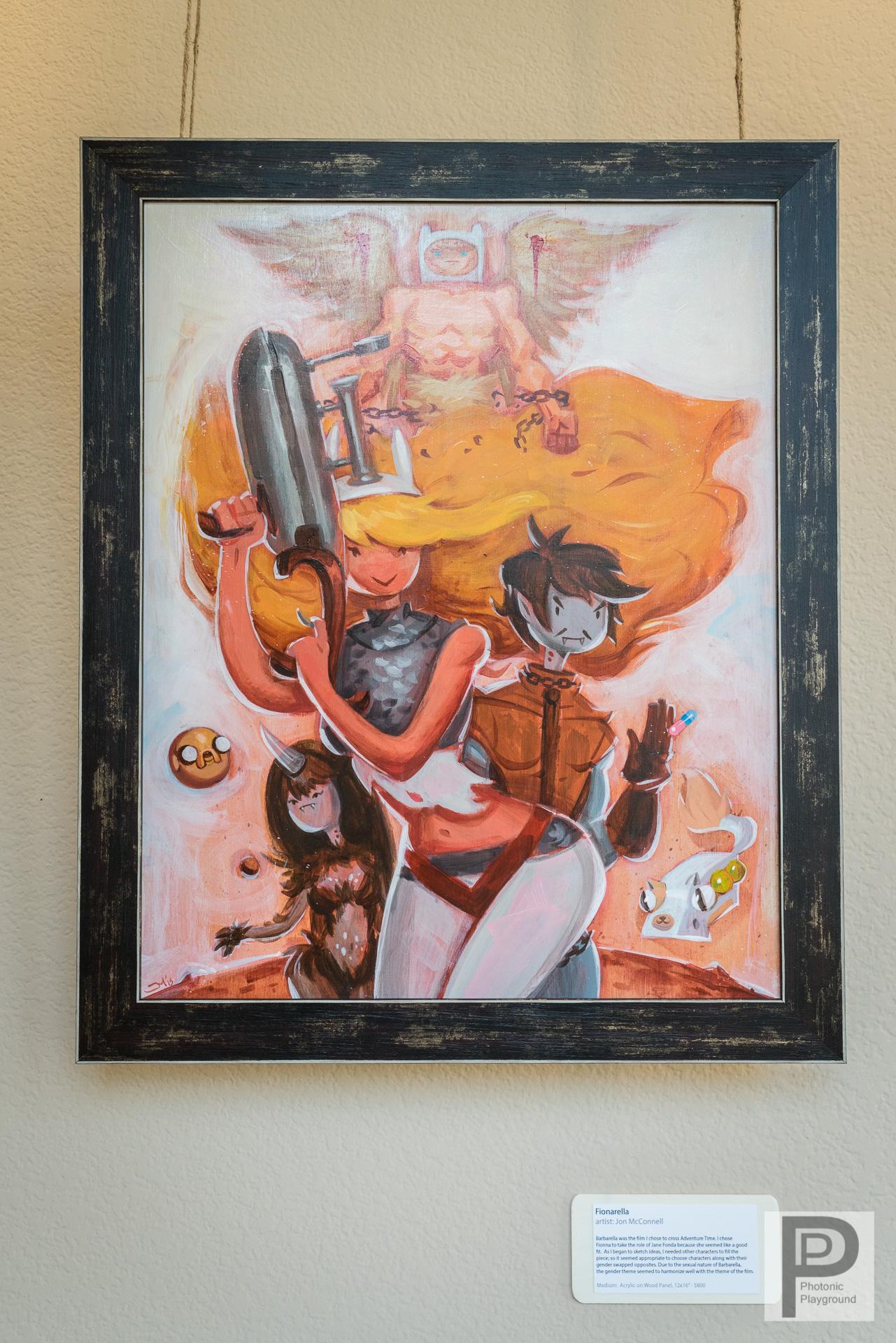 """""""Fionarella""""  framed art"""