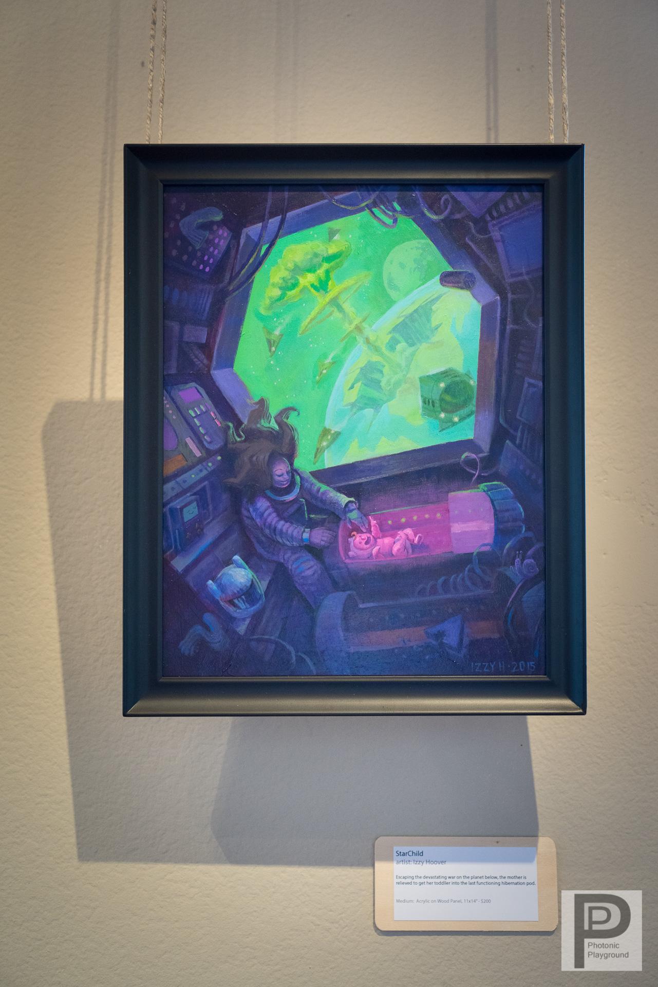 """""""StarChild""""  framed art"""