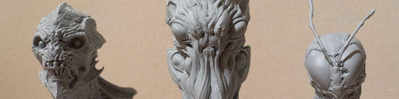 Click here to view and purchase  Dominic's 3D printed busts which was exhibited the months of August and September 2015