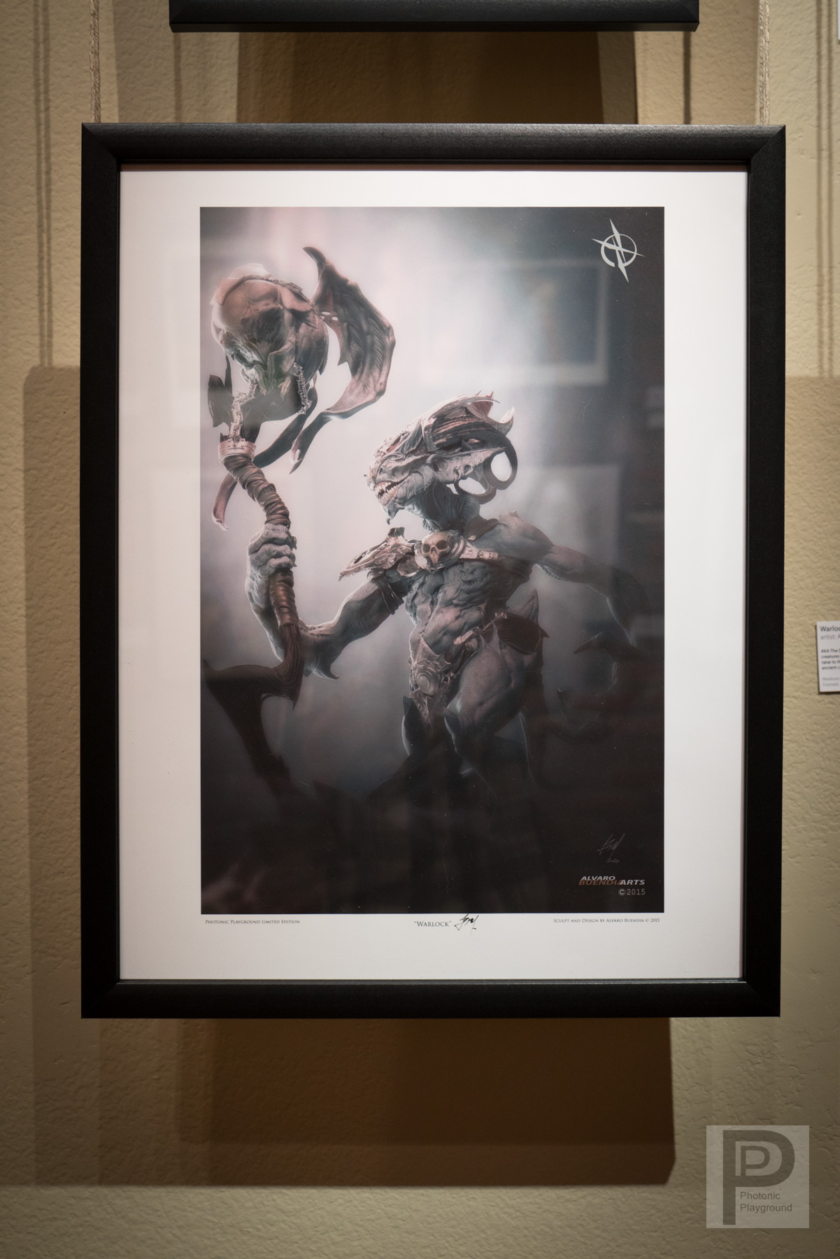 "Framed ""Warlock"""