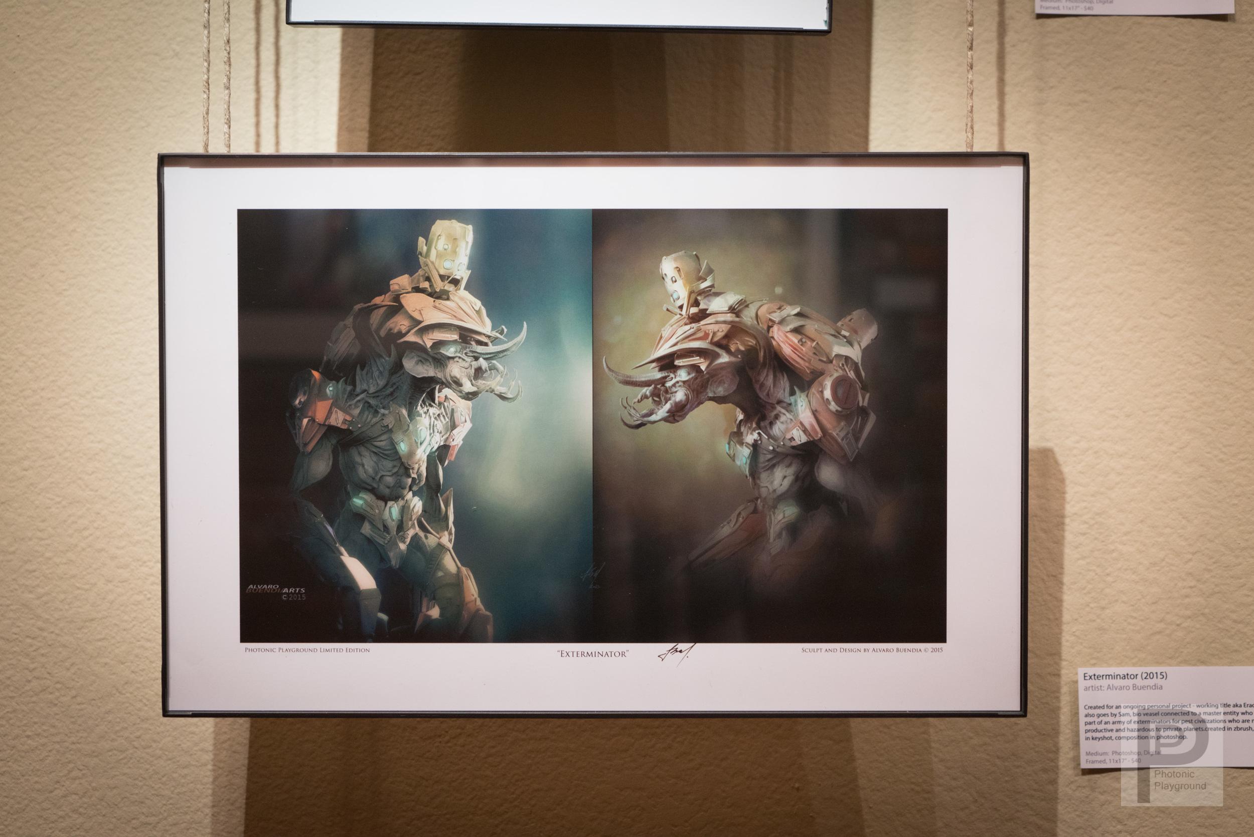 "Framed ""Exterminator"""