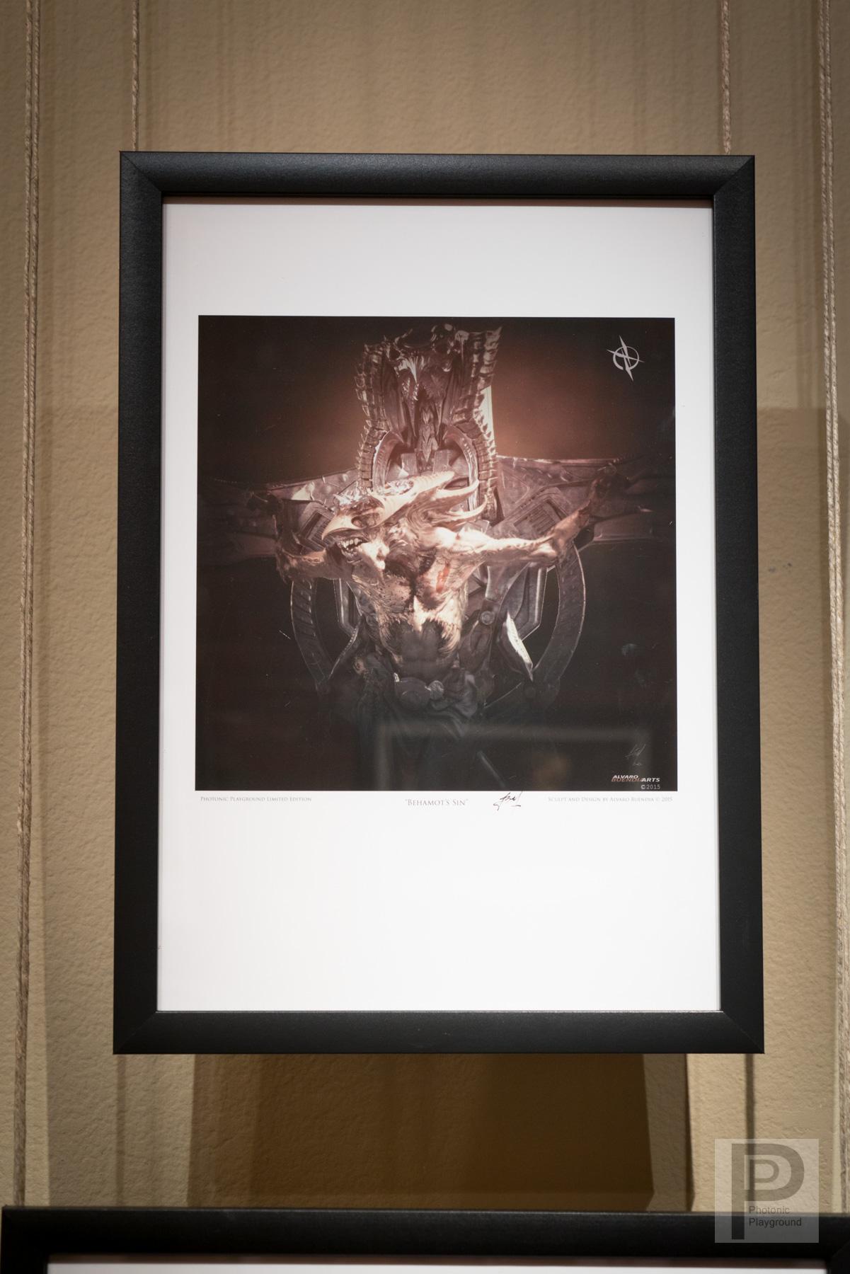 "Framed ""Behemot's Sin"""