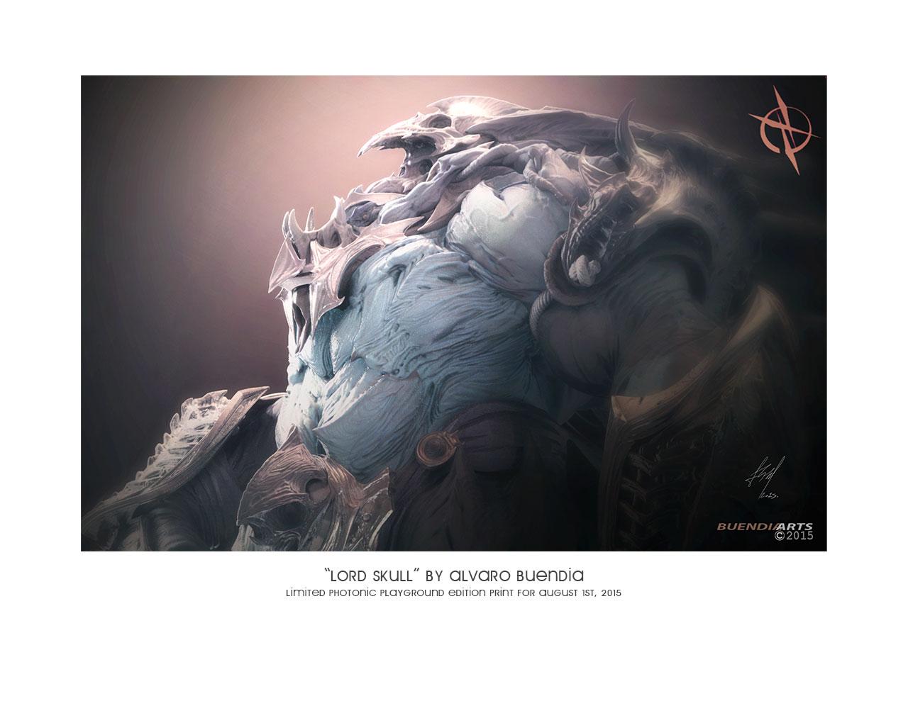 """""""Lord Skull"""" Print"""