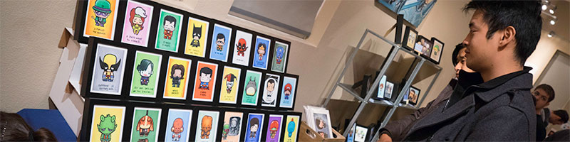 Online shop for the art of J Salvador Ramos' Super Emo Friends and Tae young Choi. Enter here!