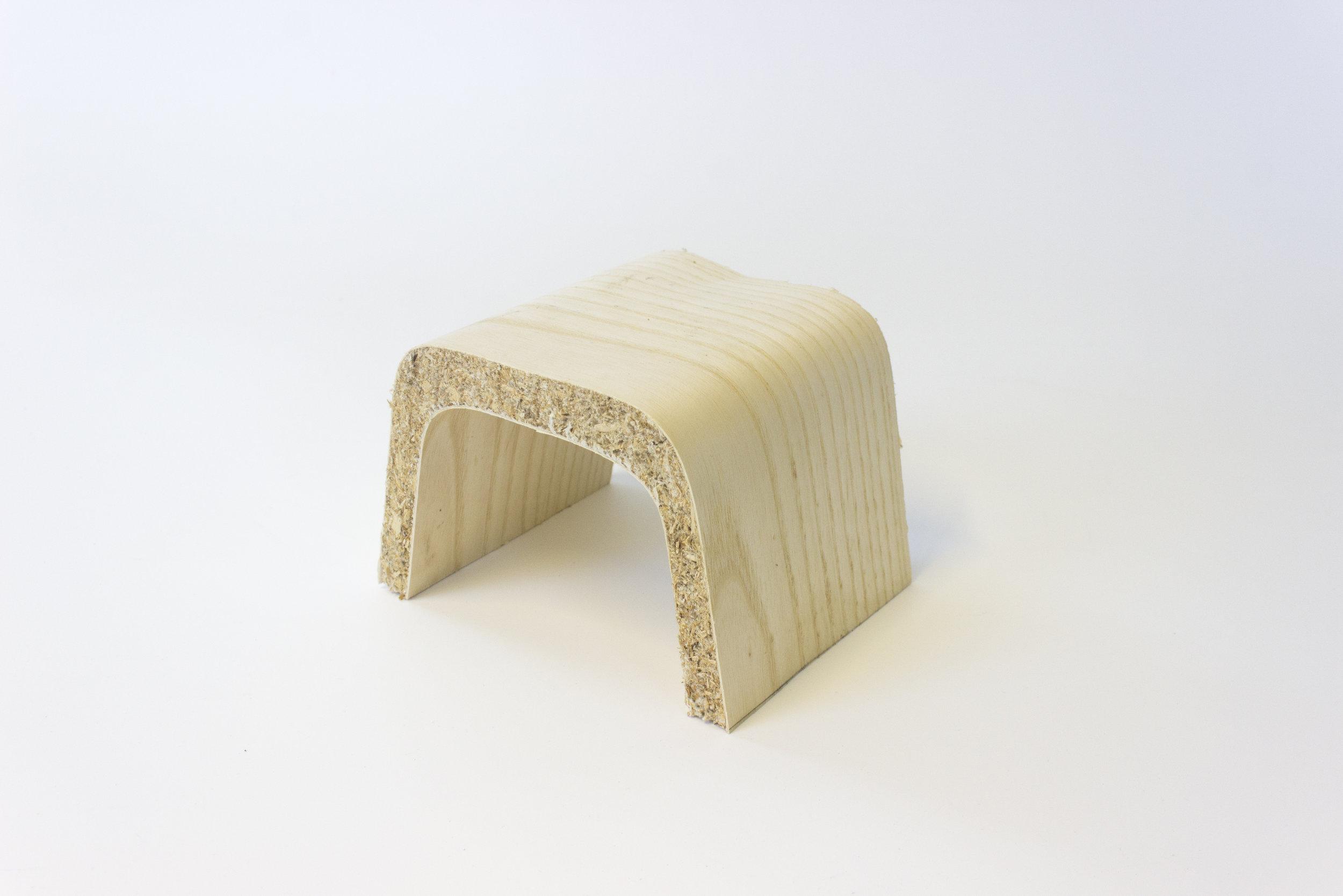 Mycelium-Veneer Composite Material (c.2017)