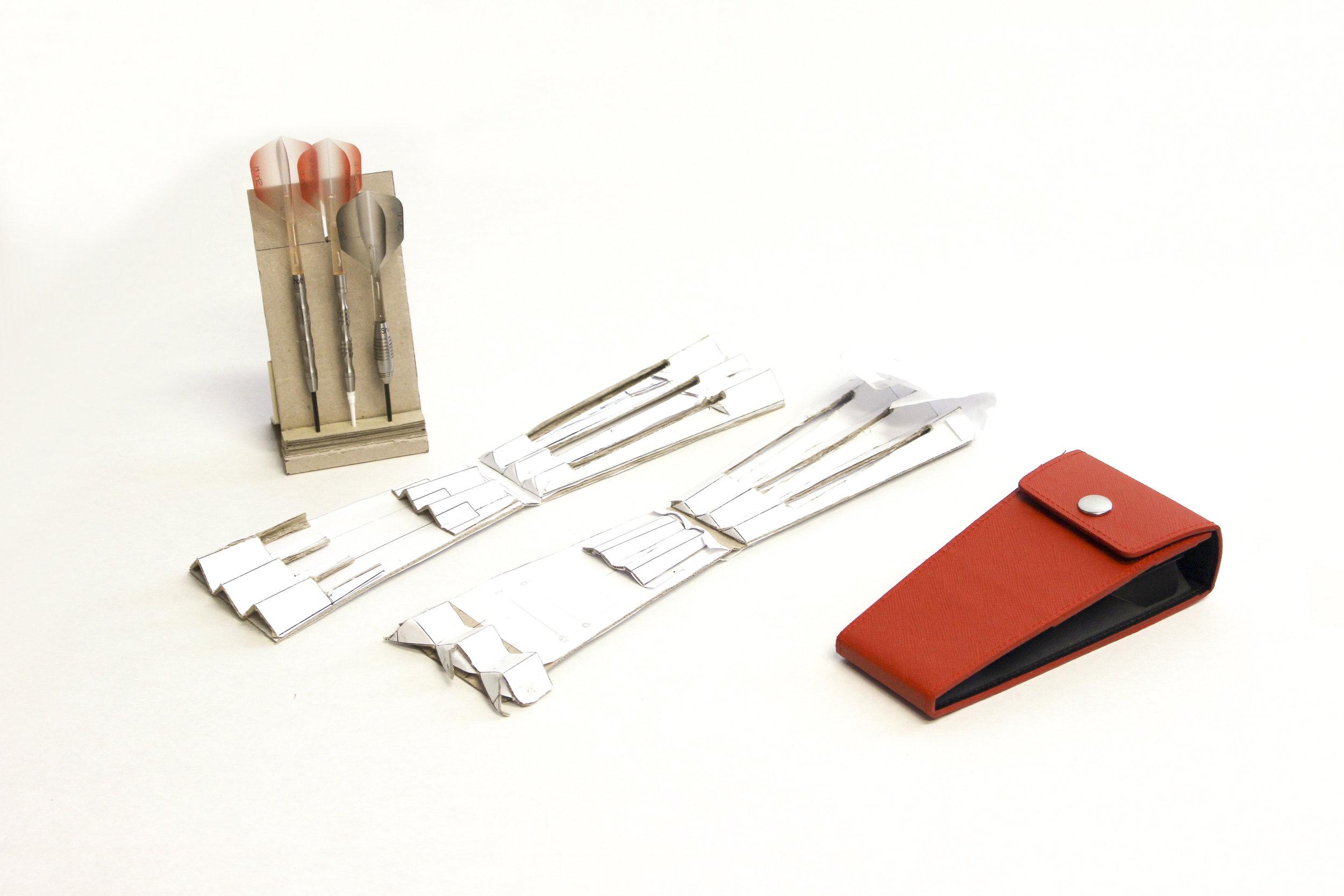 Vertex Dart Case Prototyping. (c.2016)