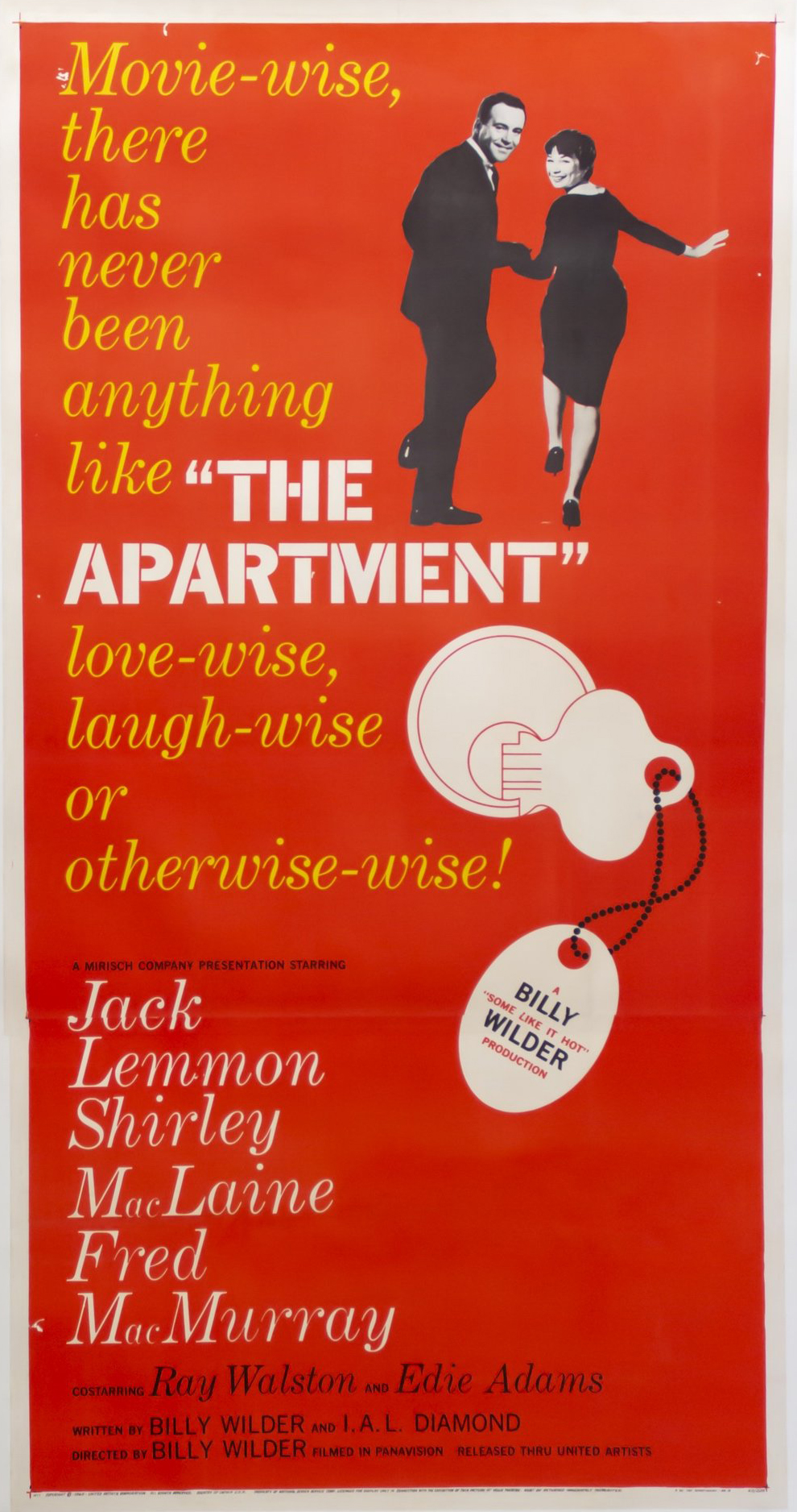 The Apartment, by Billy Wilder.
