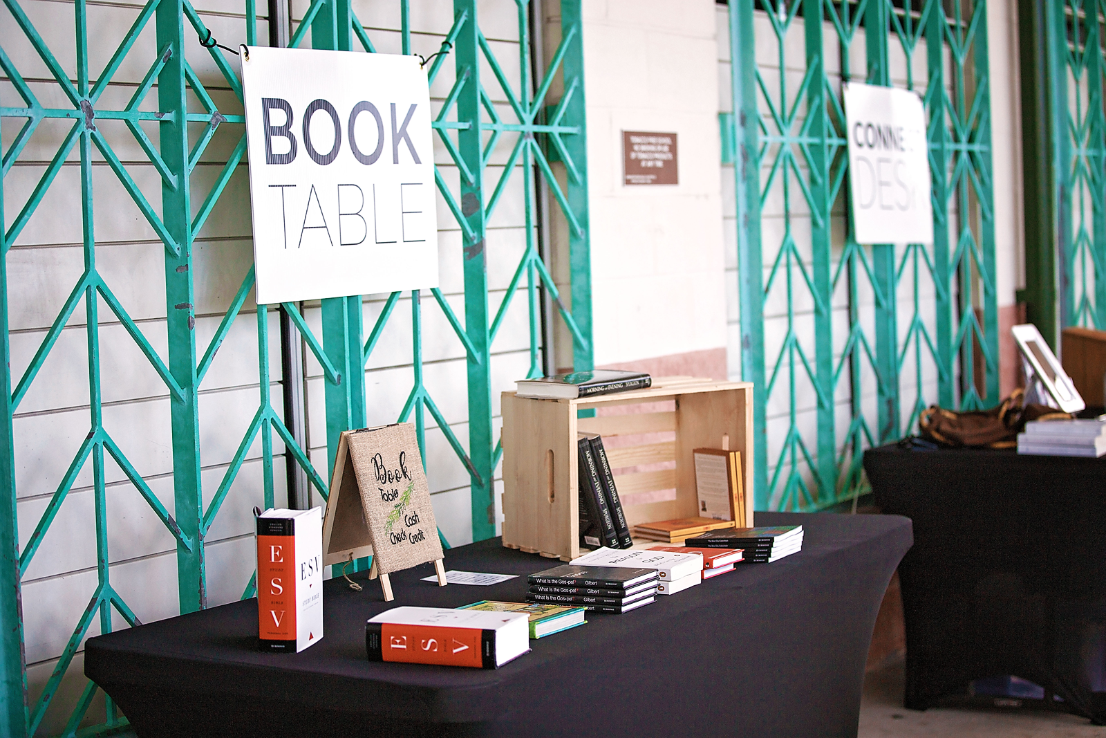 book table -