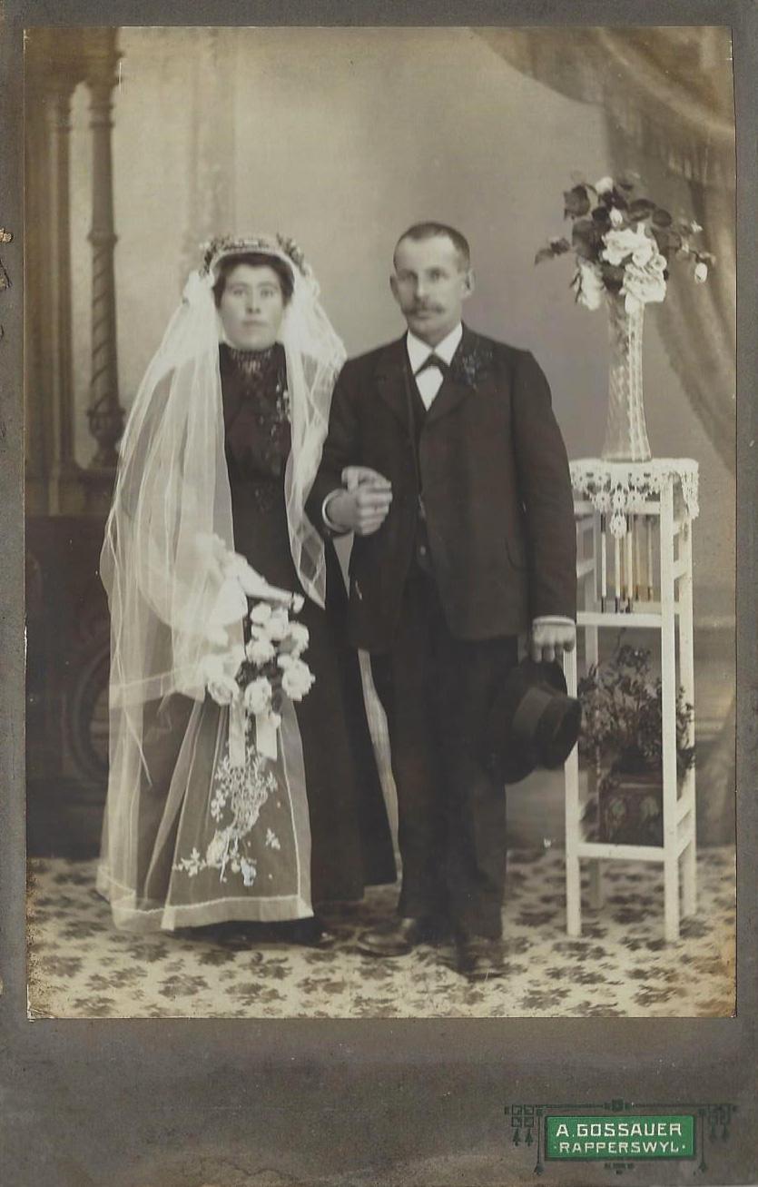 Albert Kälin (Jg. 1882) und Hedwig Kälin-Kälin