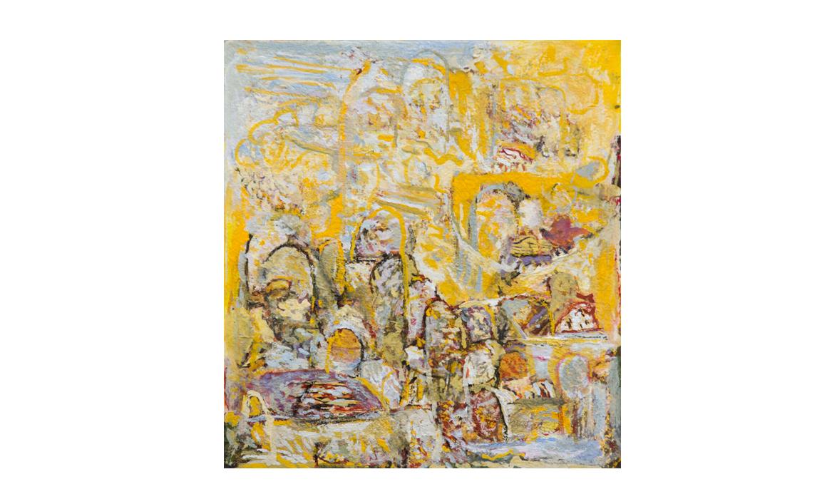 Karlu Karlu, 2014 • gouache on paper • (h)209mm x (w)190mm