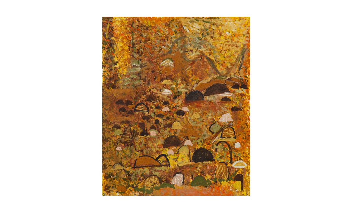 Karlu Karlu, 2014 • gouache on paper • (h)220mm x (w)180mm