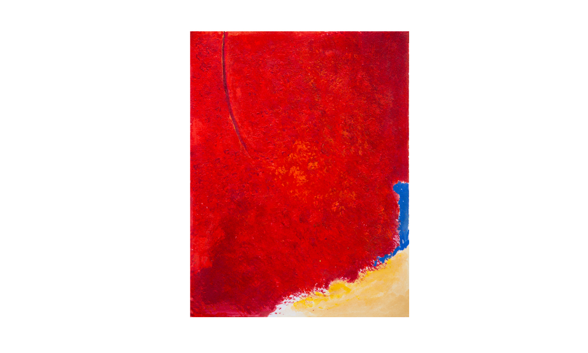 Red centre, 2012 • gouache on paper • (h)245mm x (w)175mm