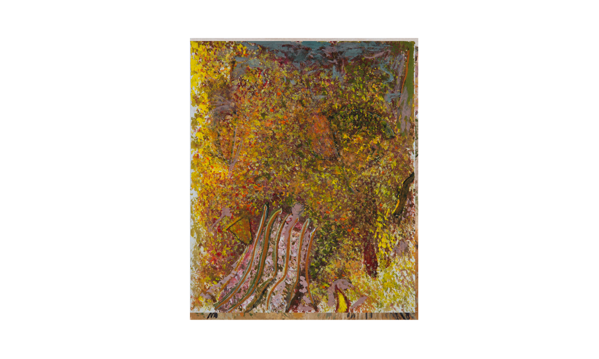 Larapinta drive, 2013 • gouache on paper • (h)225mm x (w)187mm