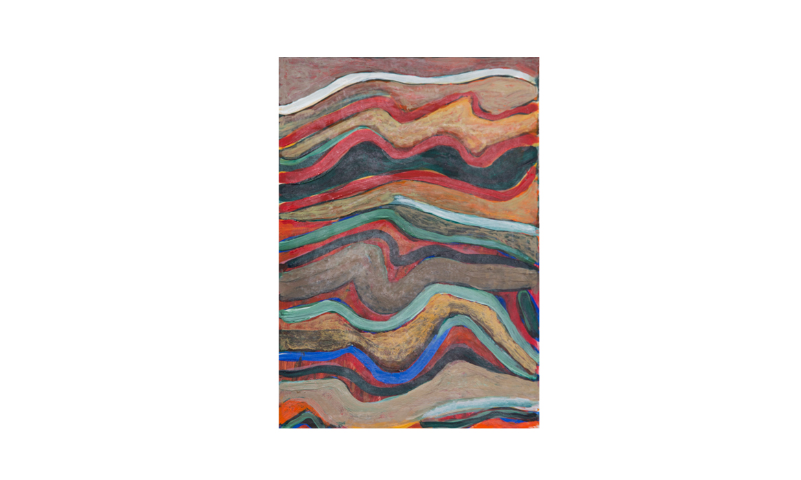 Mount Gillen, 2012 • gouache on paper • (h)187mm x (w)132mm