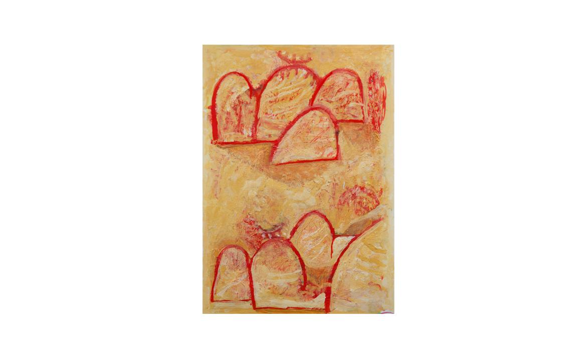 Olgas, 2012 • gouache on paper • (h)193mm x (w)130mm