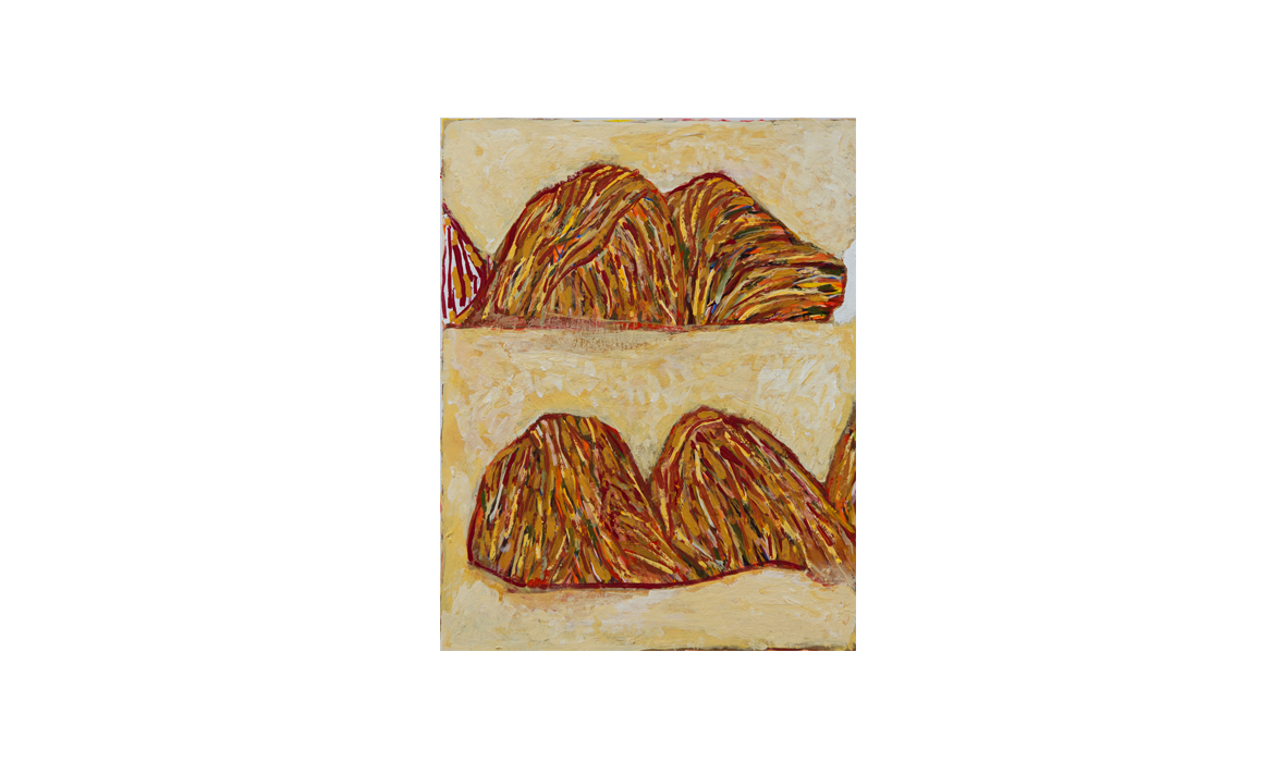 West Macdonnell ranges, 2014• gouache on paper • (h)210mm x (w)170mm
