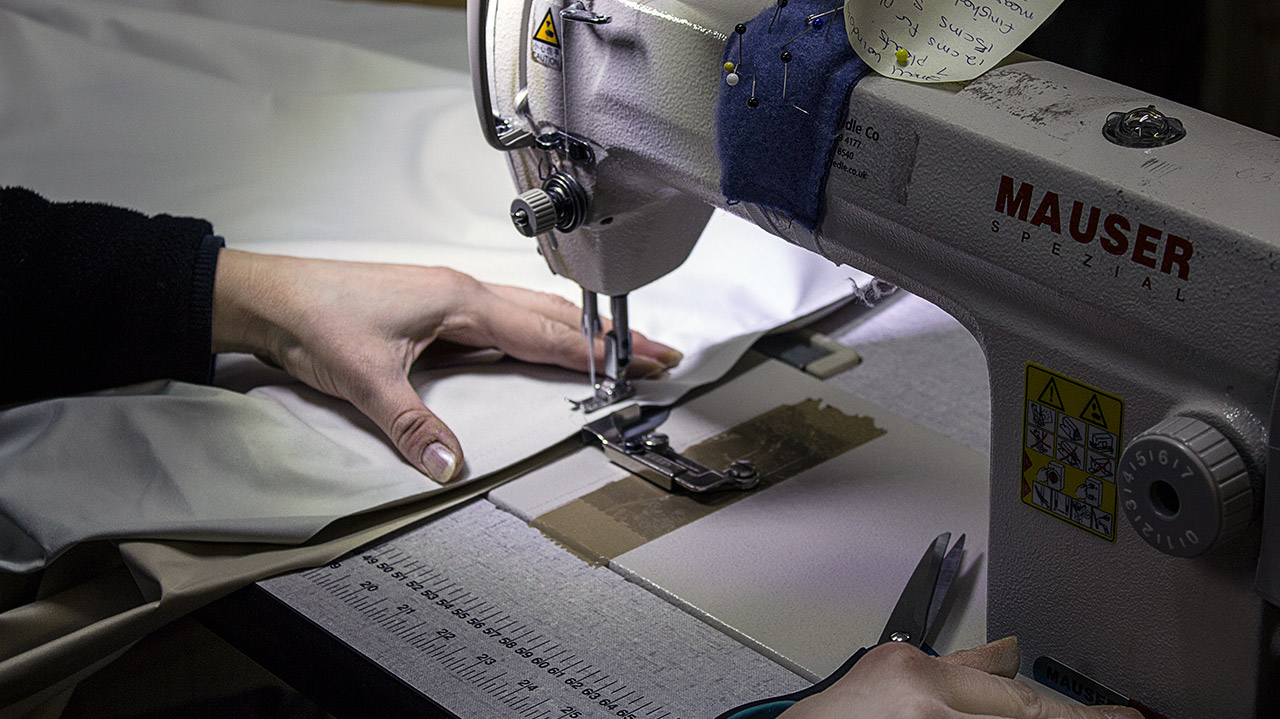 Soft Furnishingservices for bespoke contract solutions within the Retail, H  ospitality, Leisure and Healthcare sectors.