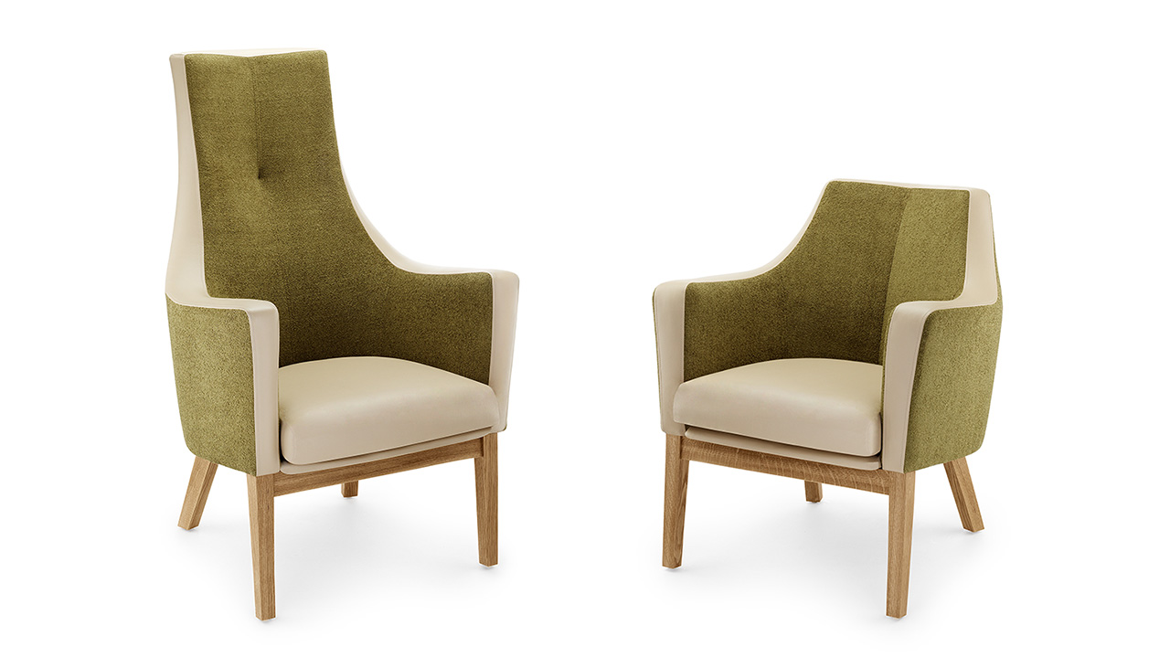 Specially designed healthcare furniture.