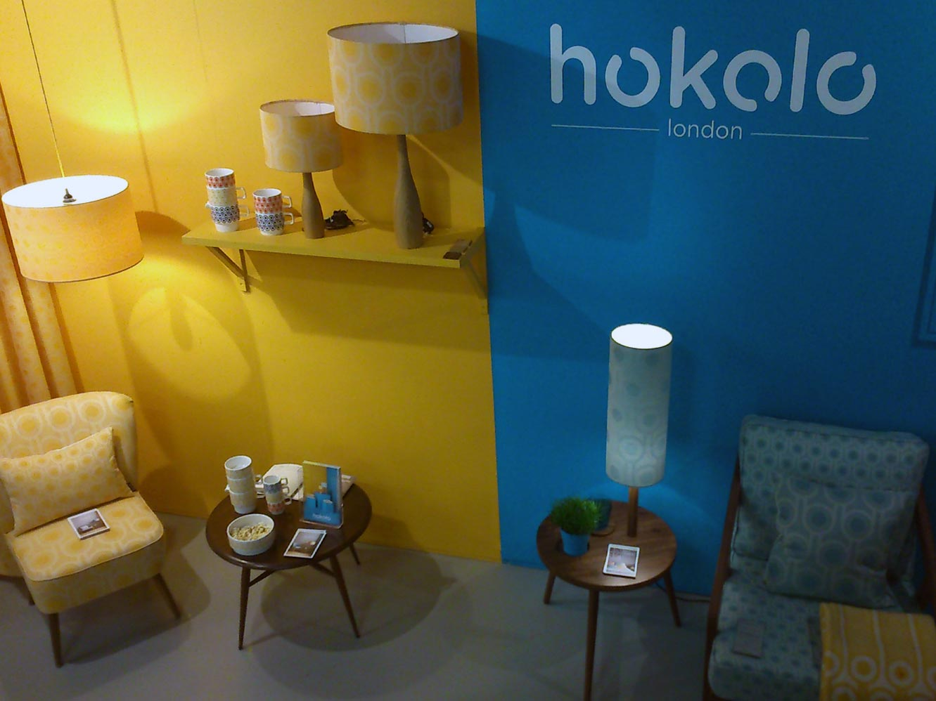 You couldn't walk past  Hokolo  without noticing their energetic stand and awesome patterned wools.